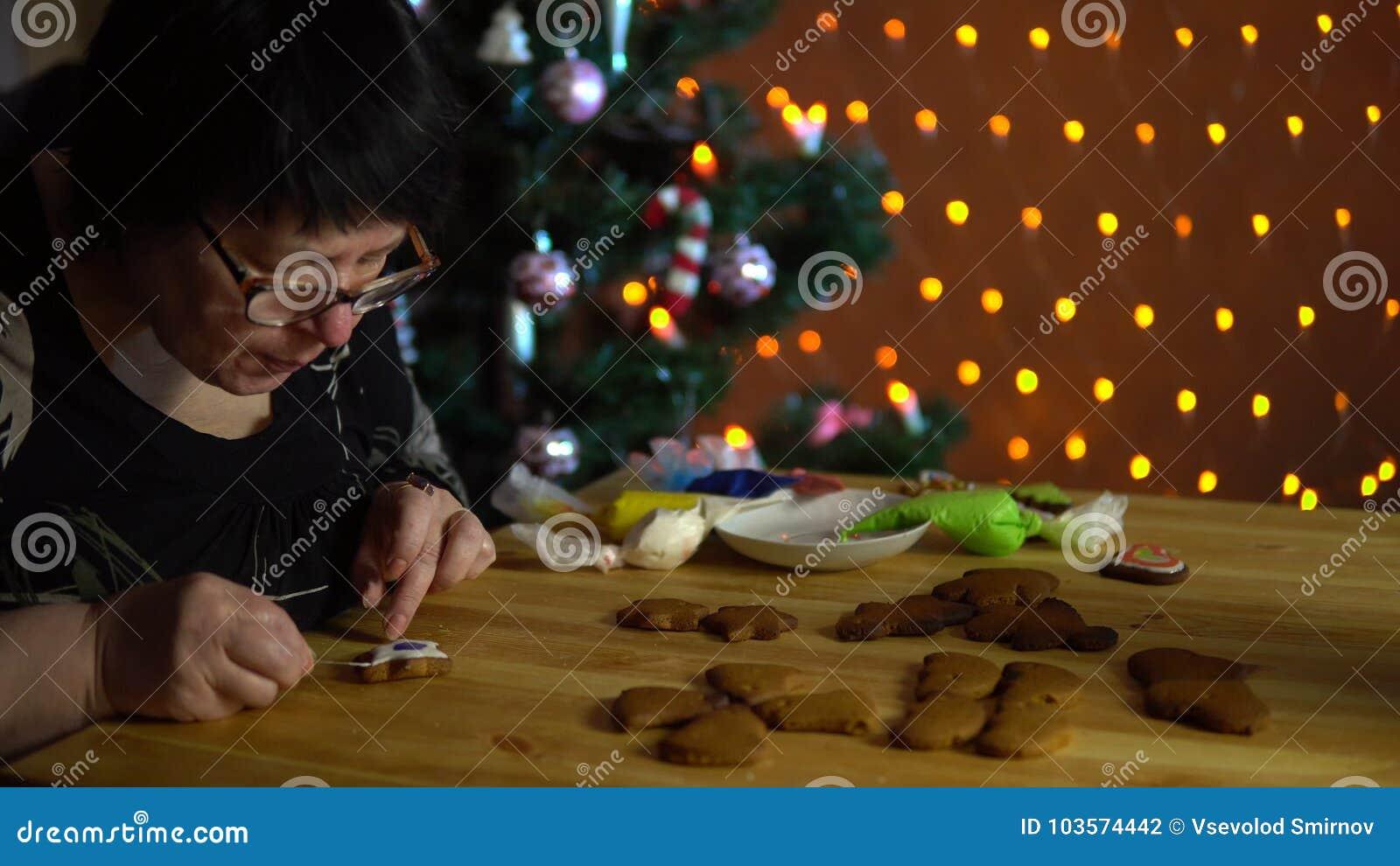 homemade wife Christmas mature
