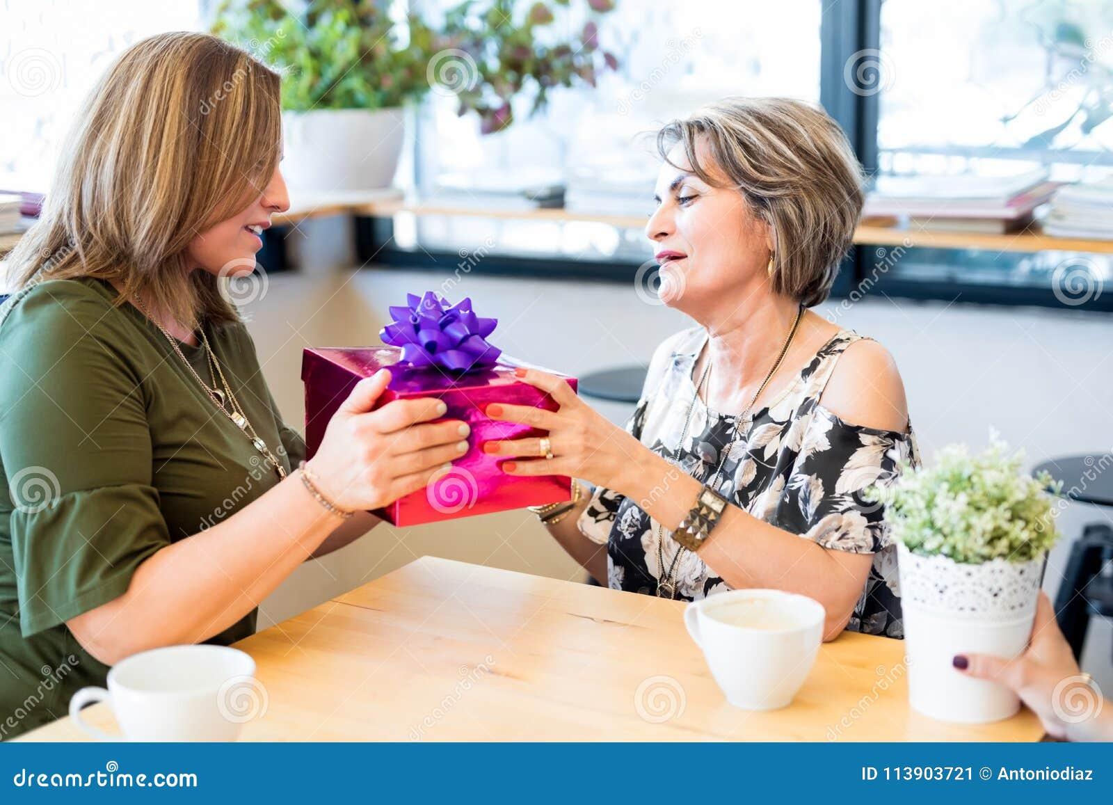 Mature female friend