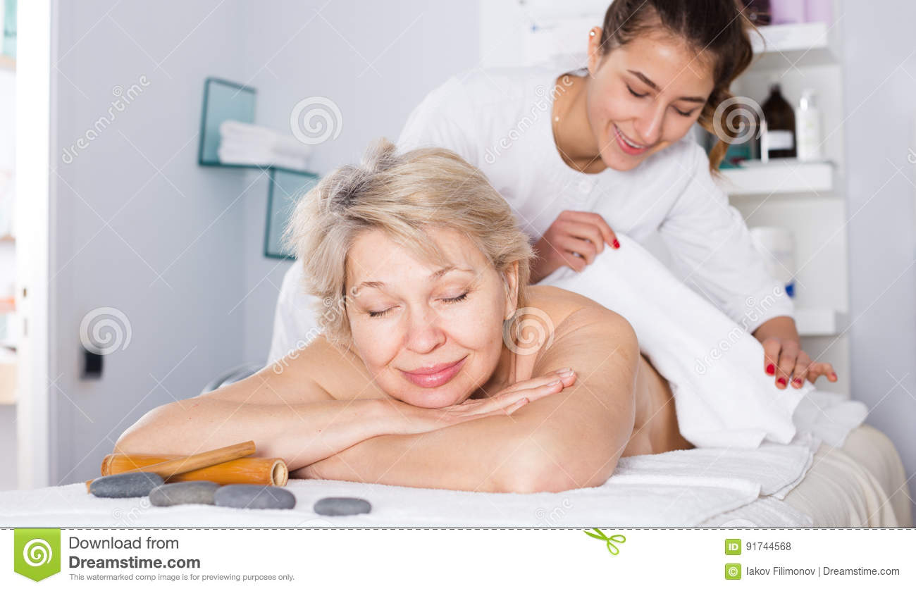 Mature 50 s massage hub