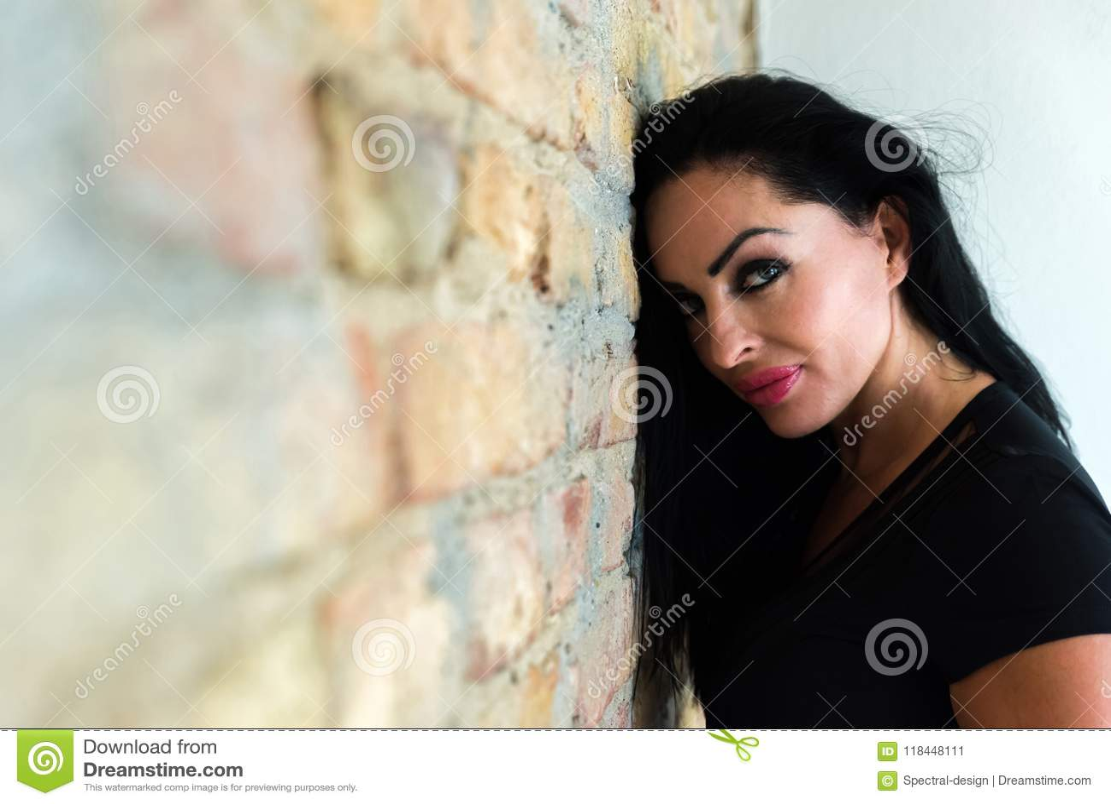 Woman fucking a stickshift