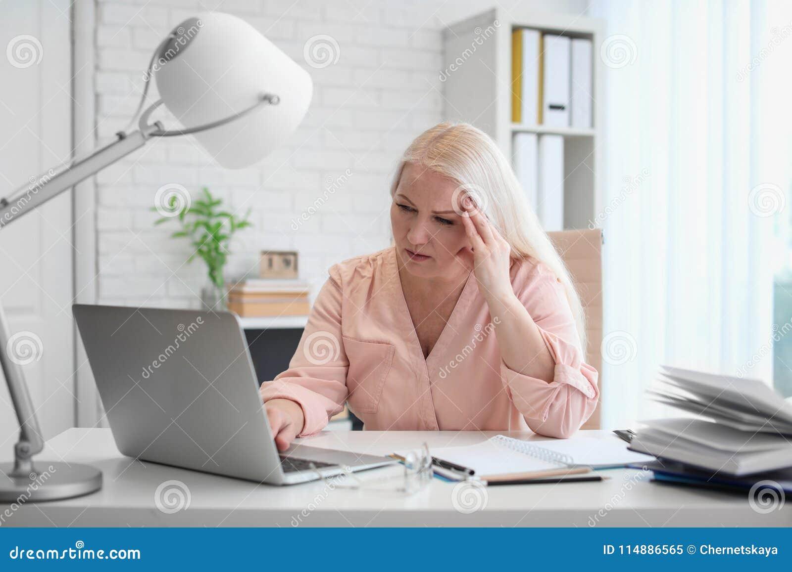 Mature women office secretary opinion you