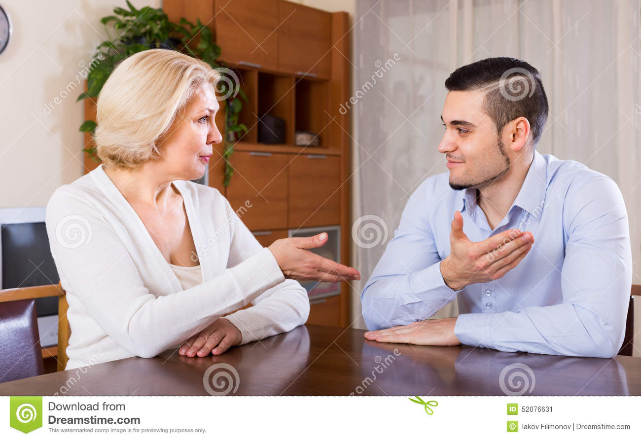 Mature lady and her boyfriend