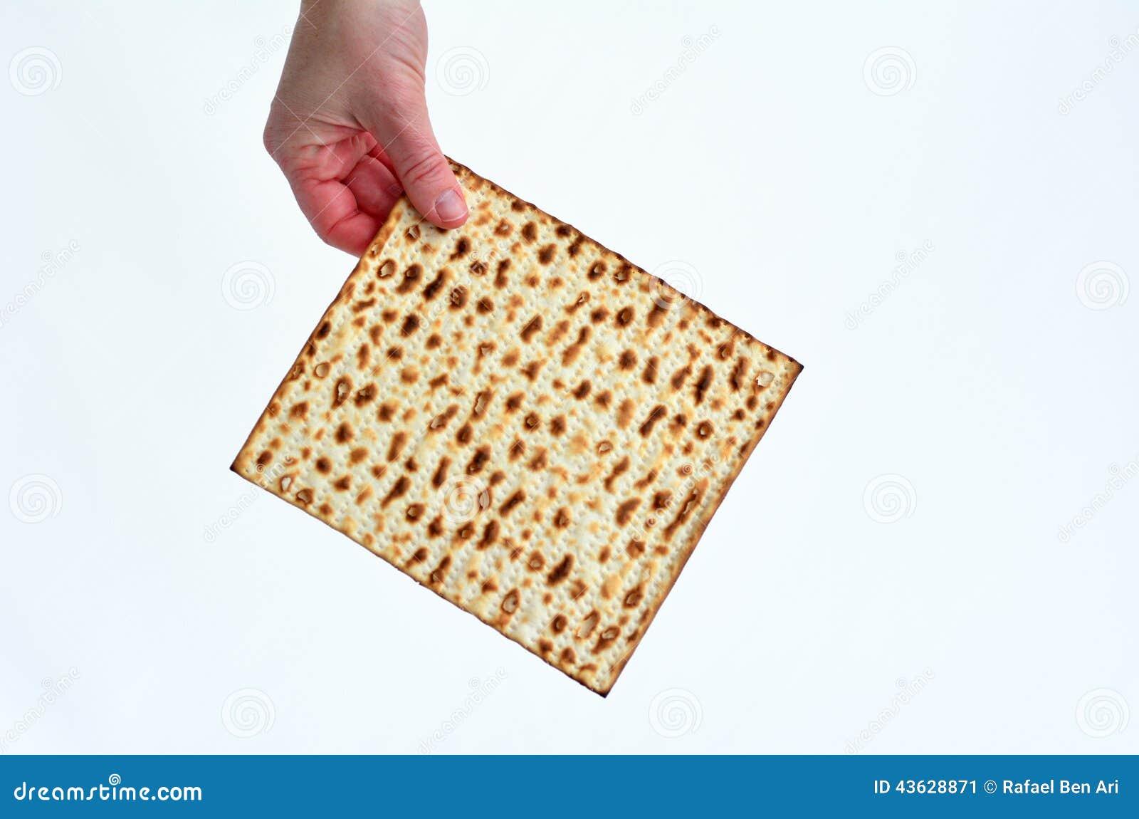 Matza - día de fiesta judío de la pascua judía
