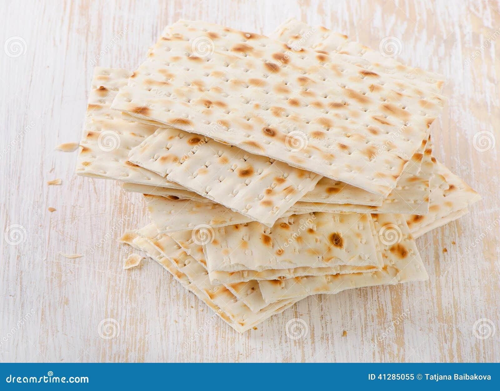 Matzoh - pan judío del passover