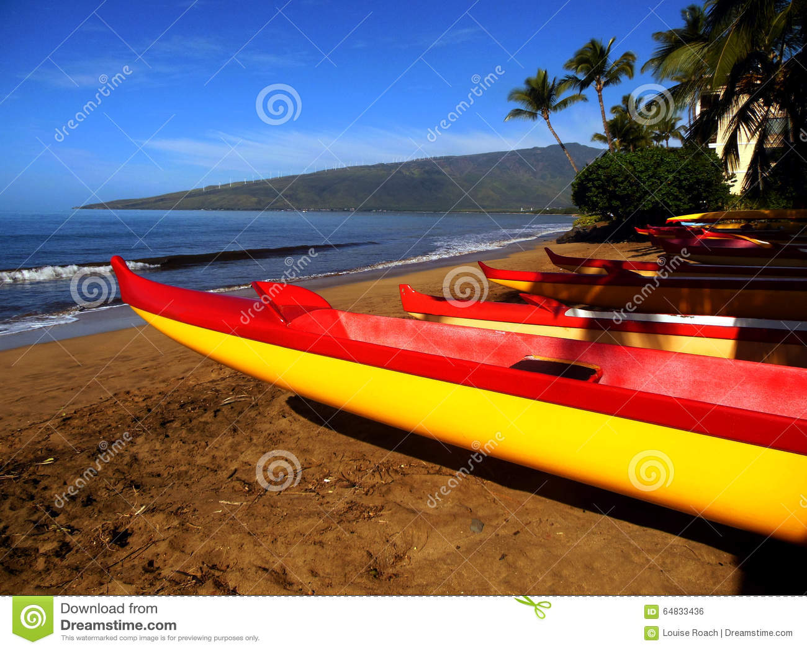 Maui kanoter
