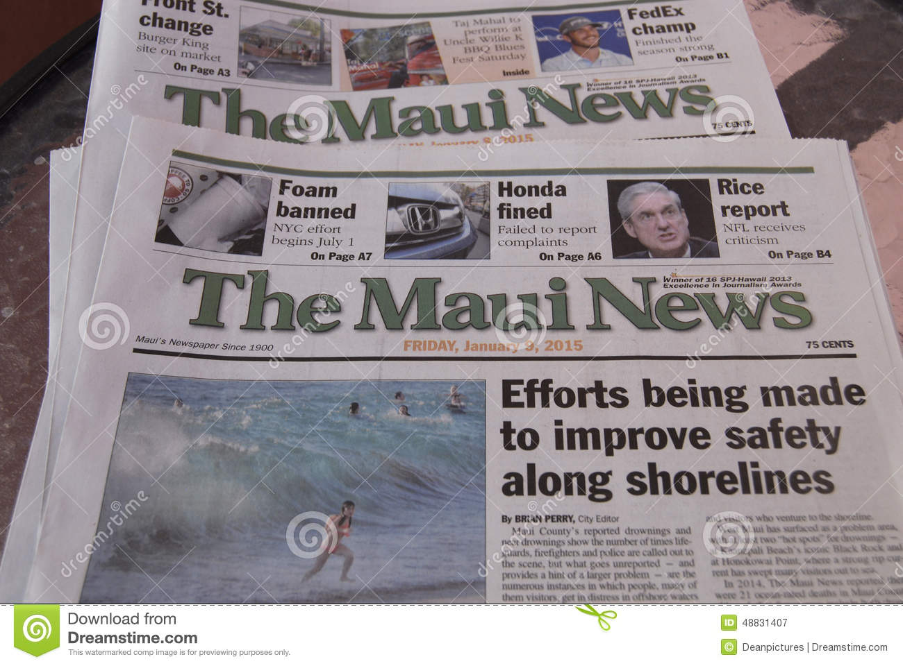Hawaii Tribune-Herald. Hawaii Tribune-Herald is a newspaper that is owned and published daily in Hilo, Hawaii by Stephens. The Hilo Tribune-Herald, formed from a merger of Hilo Daily Tribune, Daily Post-Herald, and Hawaii Herald, began publishing February 19,