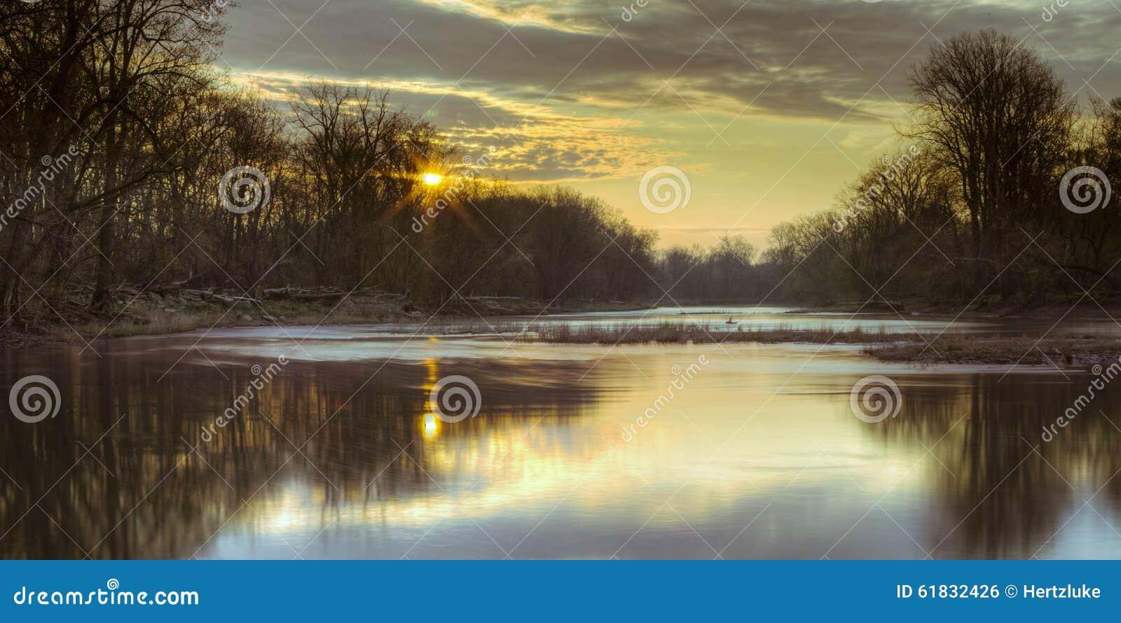Maumee-Fluss-Morgen