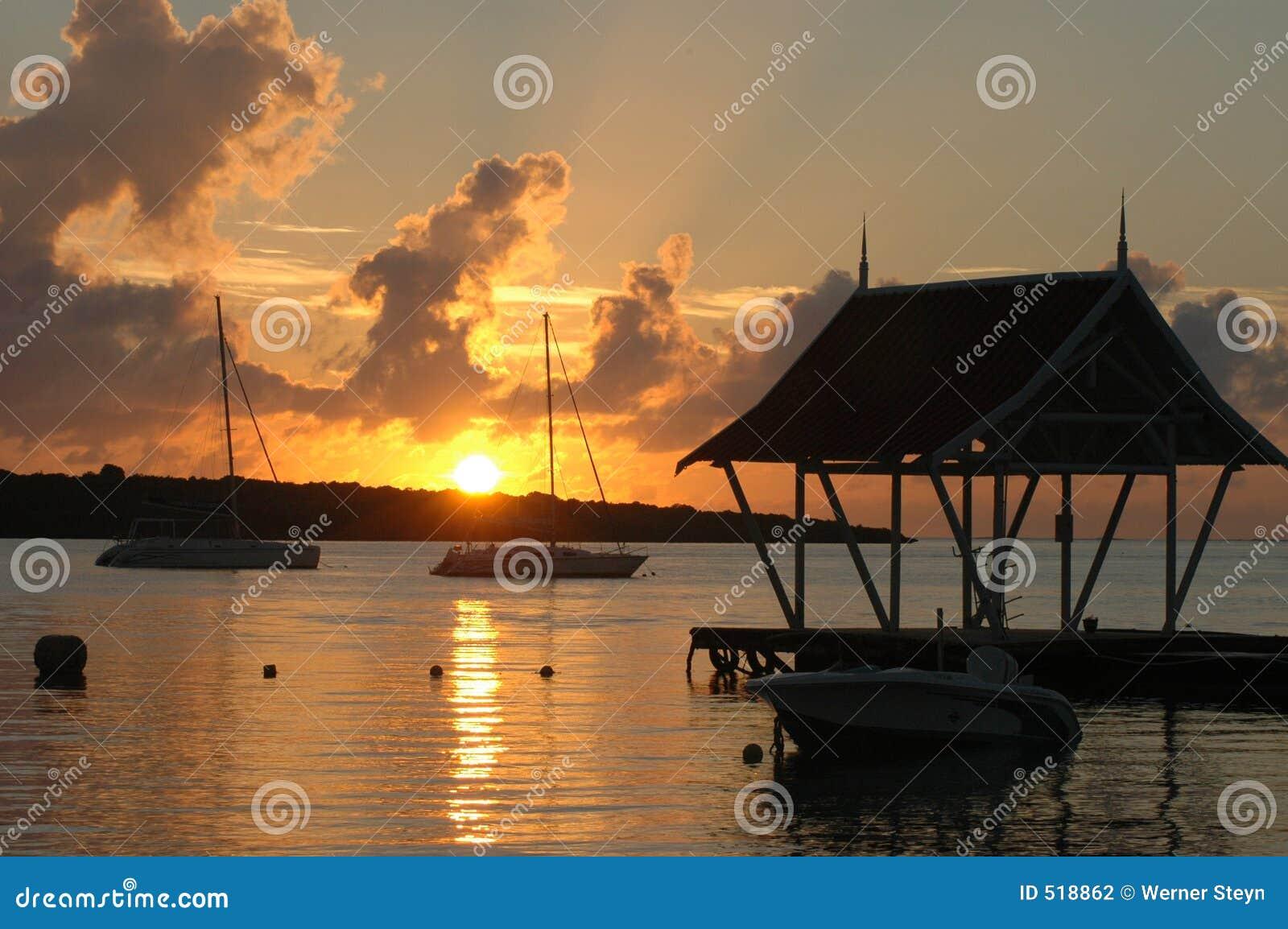 Mauritius soluppgång