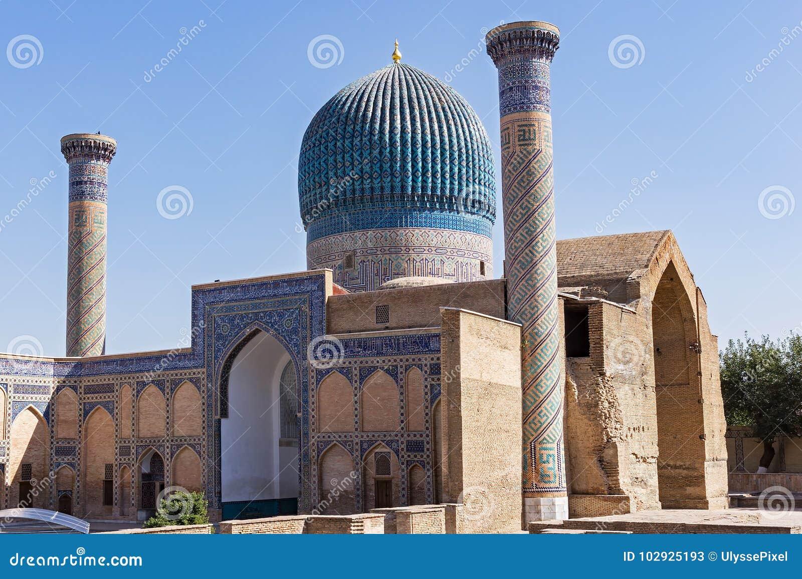 Mausoleo del emir de Gur-e de Tamerlán - Samarkand, Uzbekistán