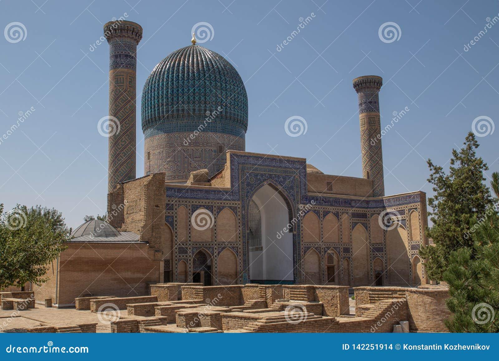 Mausoleo del Gur-emir en Samarkand, Uzbekistán