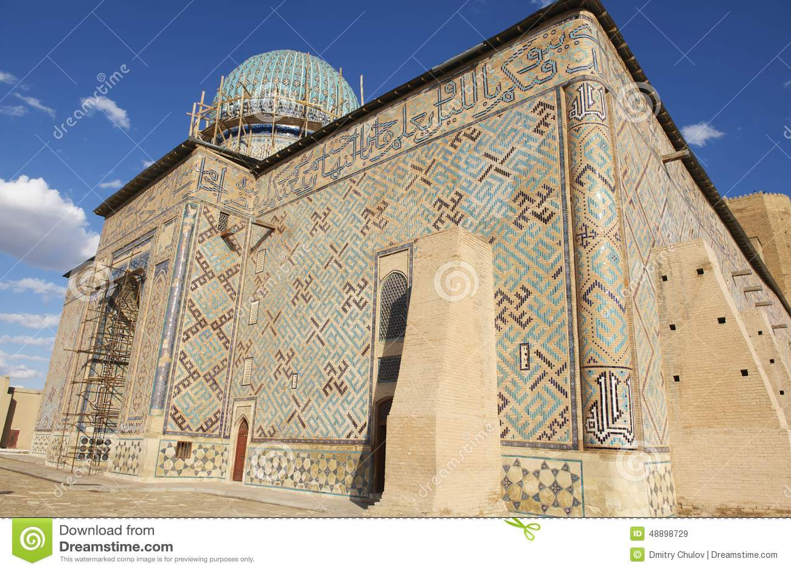 Mausoleum von Khoja Ahmed Yasavi in Turkistan, Kasachstan