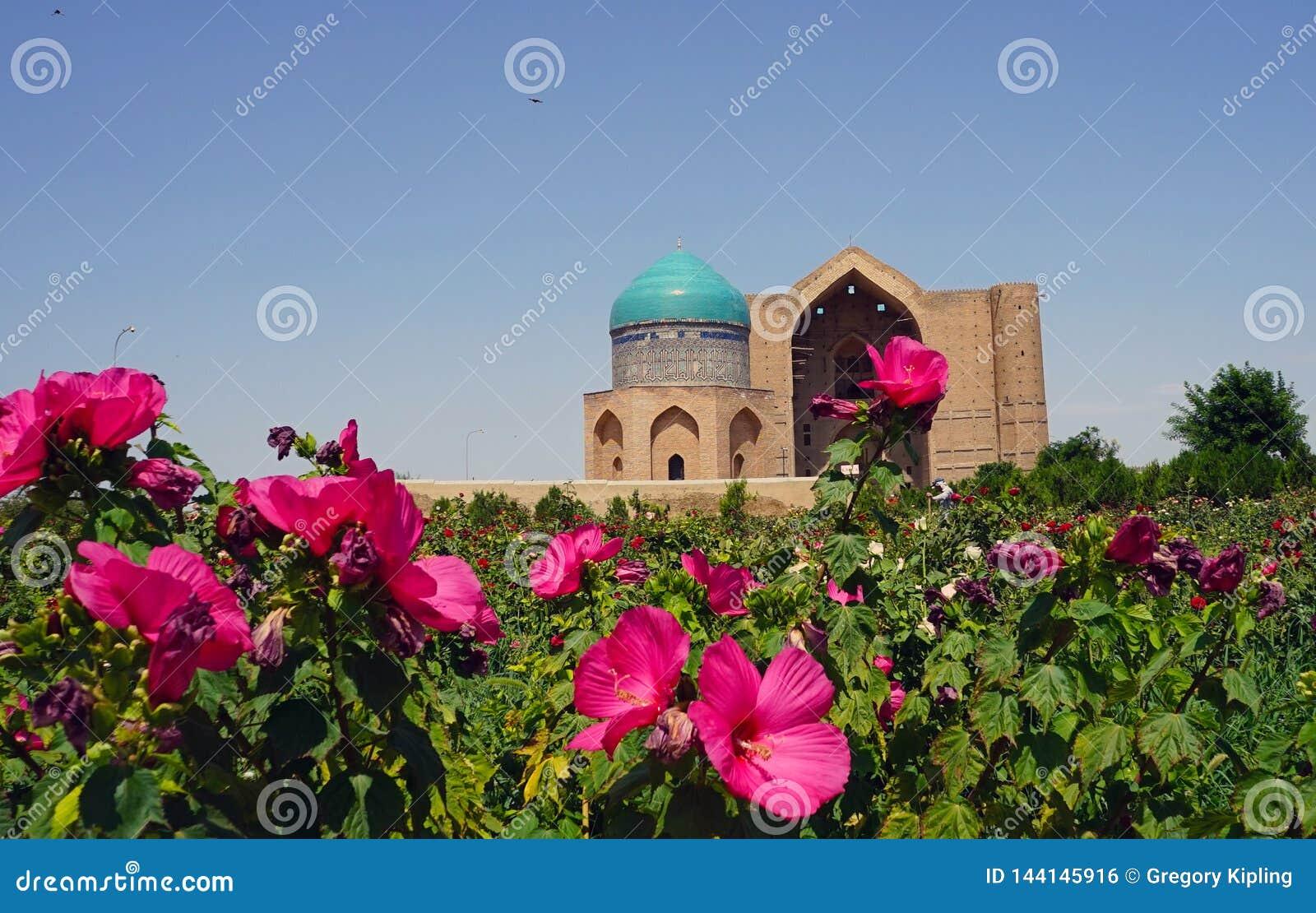 Mausoleum von Khoja Ahmed Yasawi, Turkestan, Kasachstan
