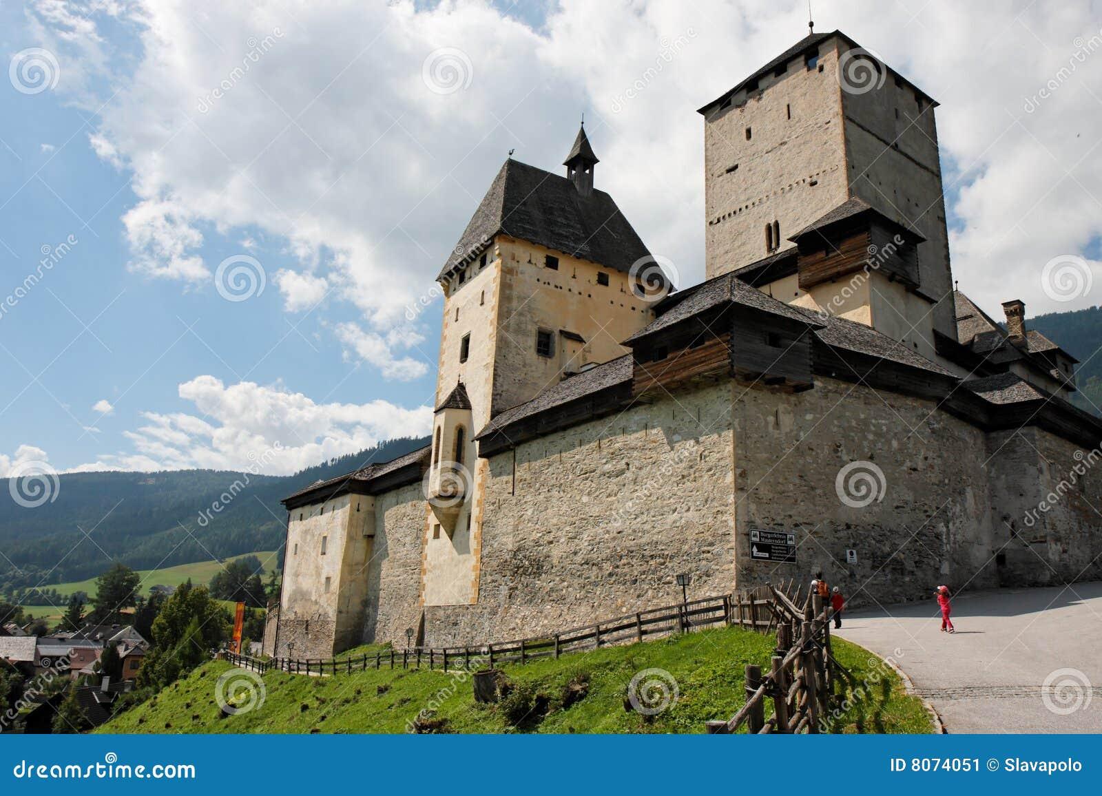 Mauterndorf medieval castle in Austria