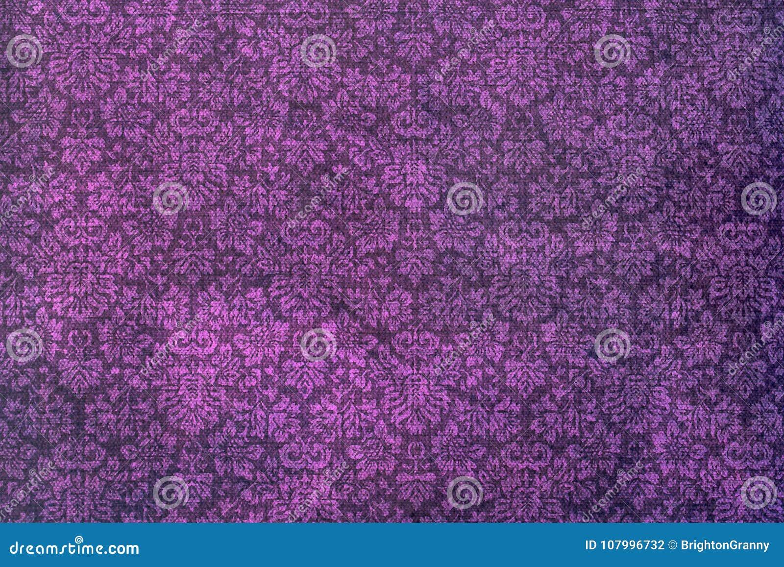 A wallpaper of a repeat botanic pattern.