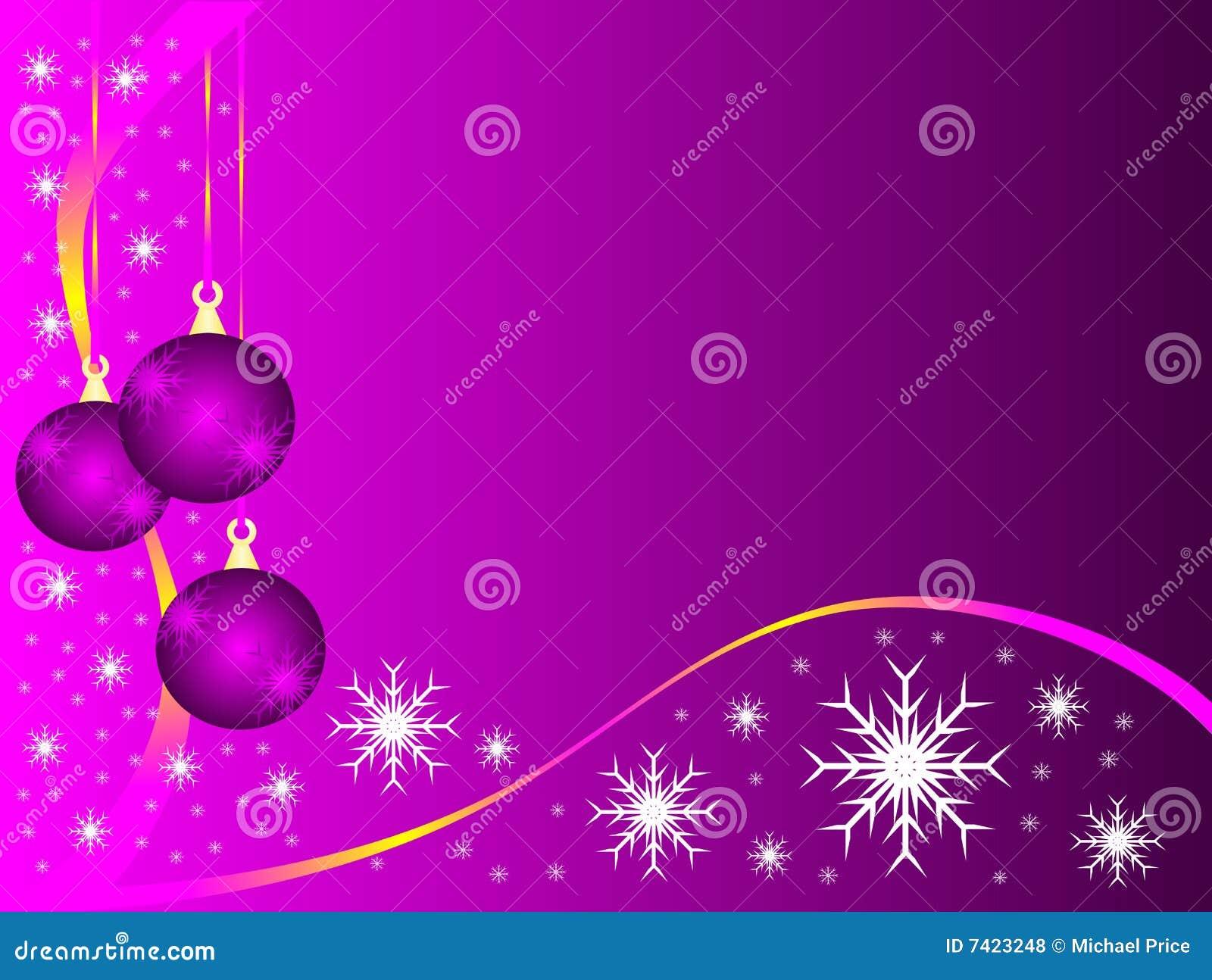 Mauve Christmas Baubles Stock Illustrations 36 Mauve Christmas