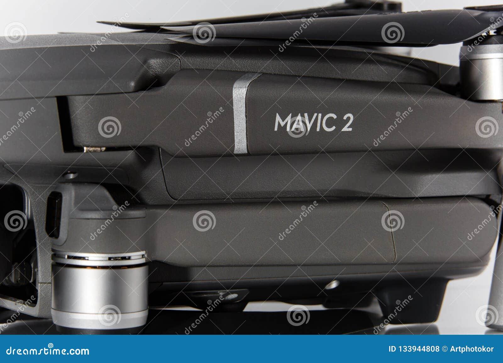 Mavic 2 proembleemclose-up De macro van het hommellichaam technologie