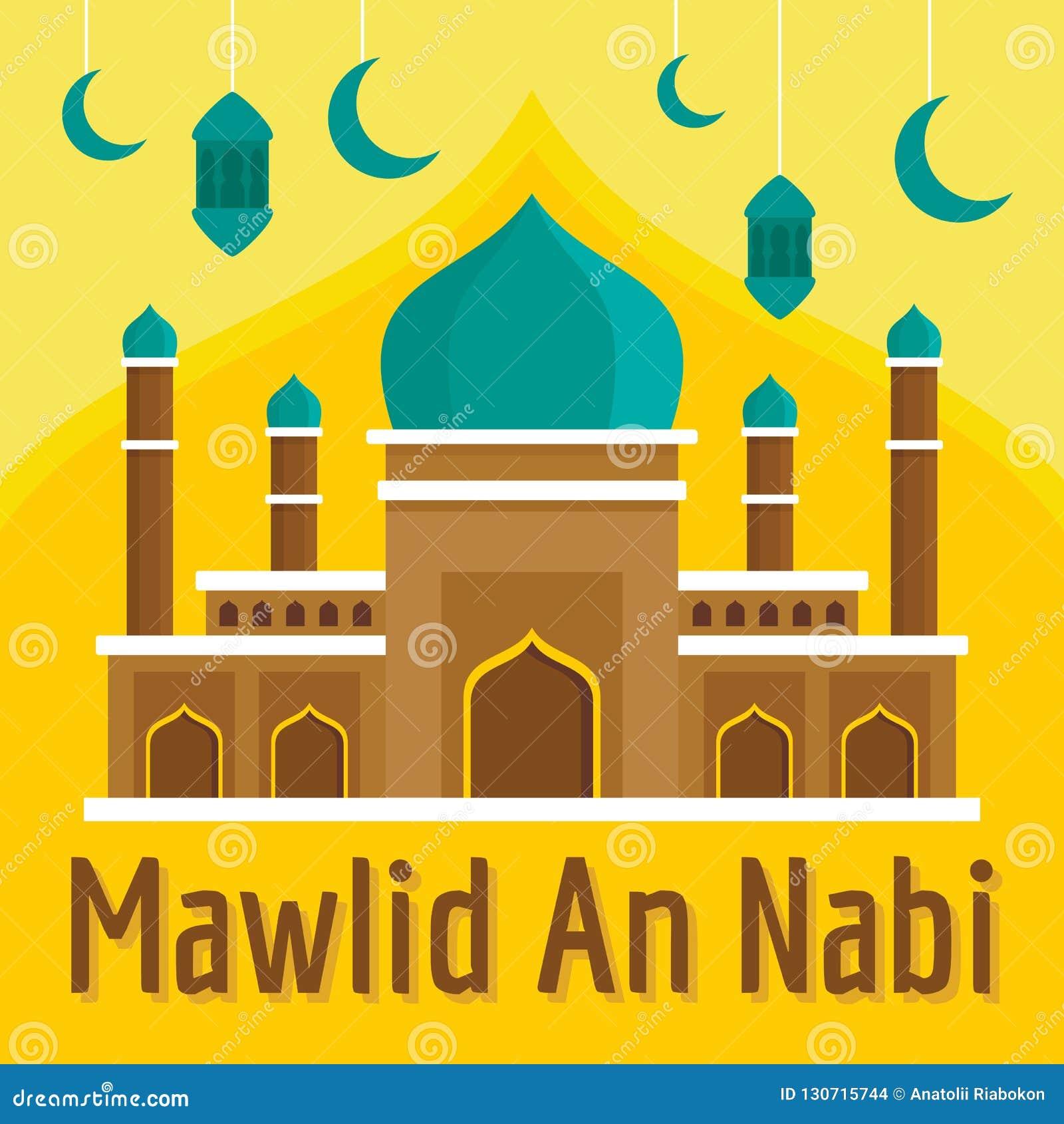 Mawlid en Nabi begreppsbakgrund, plan stil