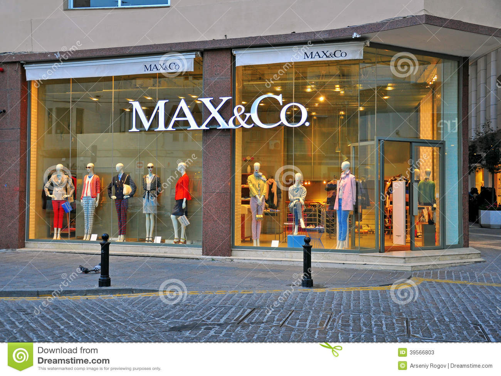 Max Amp Co Store In Malta Editorial Stock Photo Image 39566803