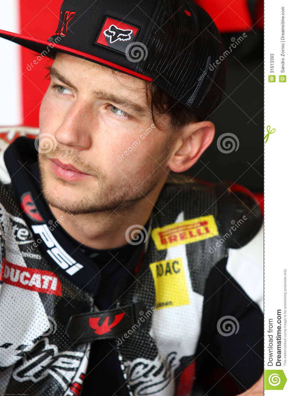 Max Neukirchner #27 on Ducati 1199 Panigale R MR-Racing Superbike WSBK