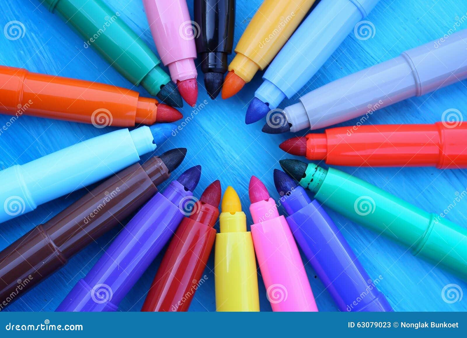 Download Maxi feutre multicolore image stock. Image du affichage - 63079023