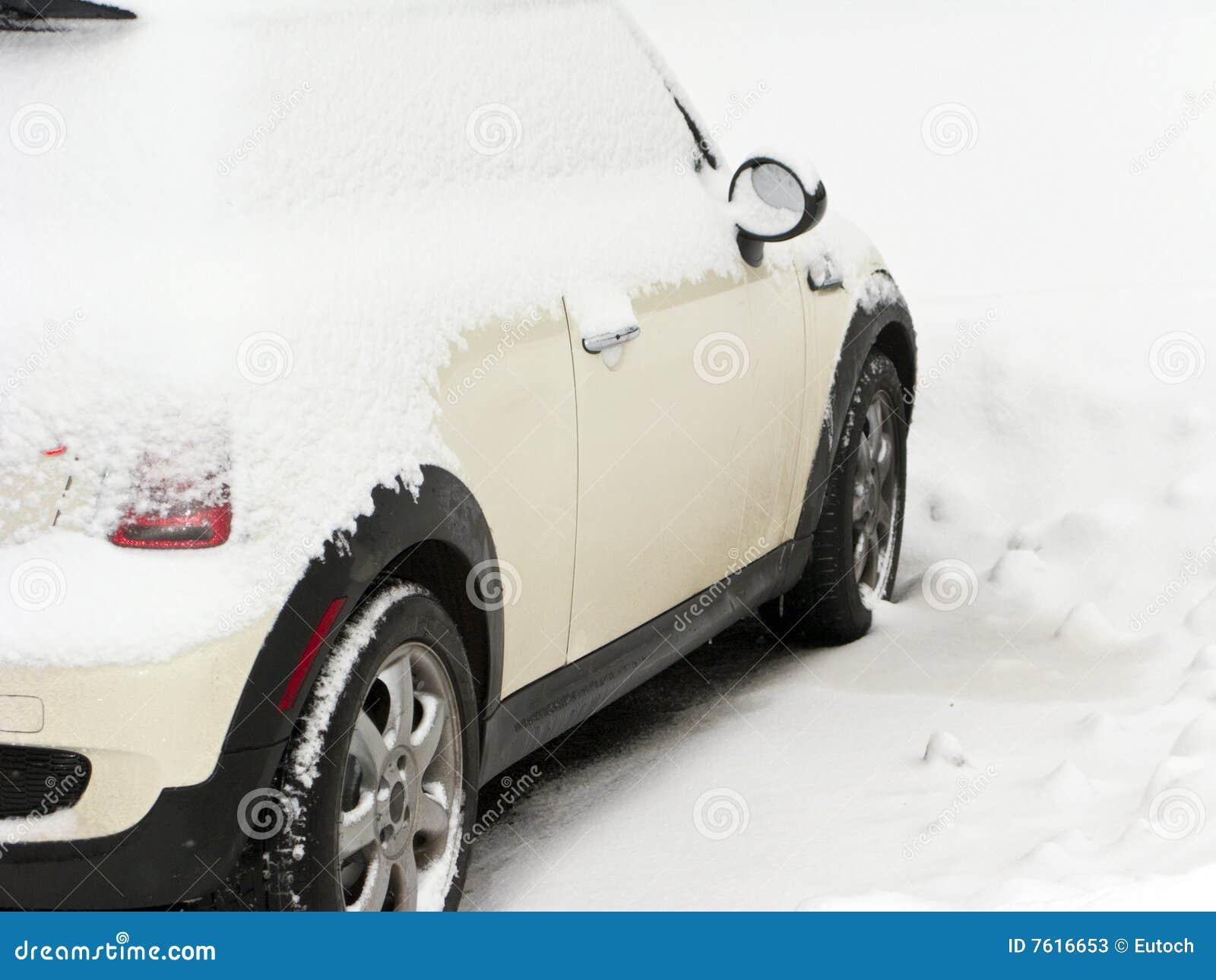 Maxi snowdrift för bil