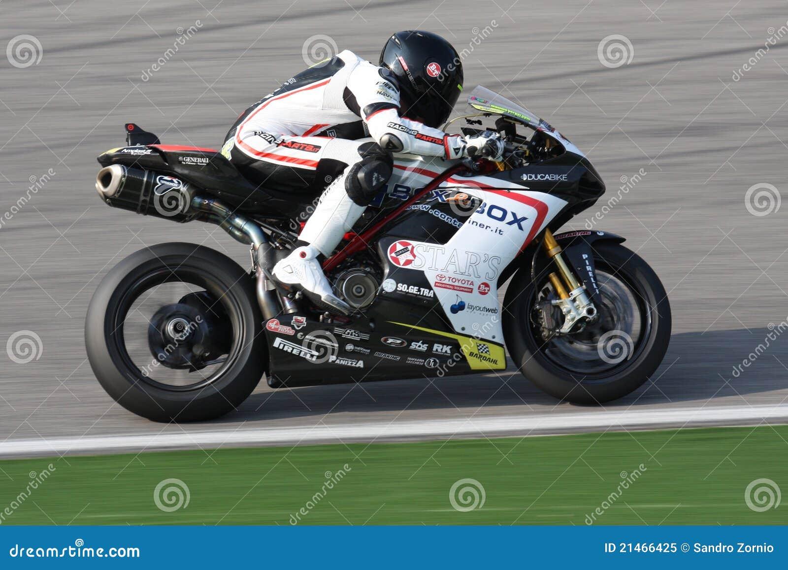 Maxime Berger - Ducati 1098R - squadra supersonica
