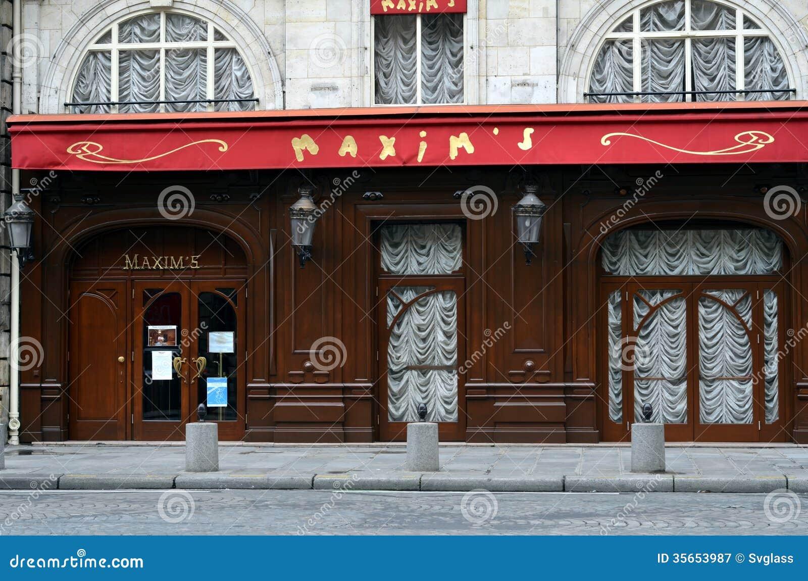 Le Plus Celebre Restaurant En France