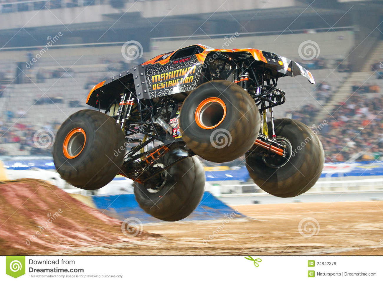 maximum destruction monster truck editorial photo image 24842376. Black Bedroom Furniture Sets. Home Design Ideas