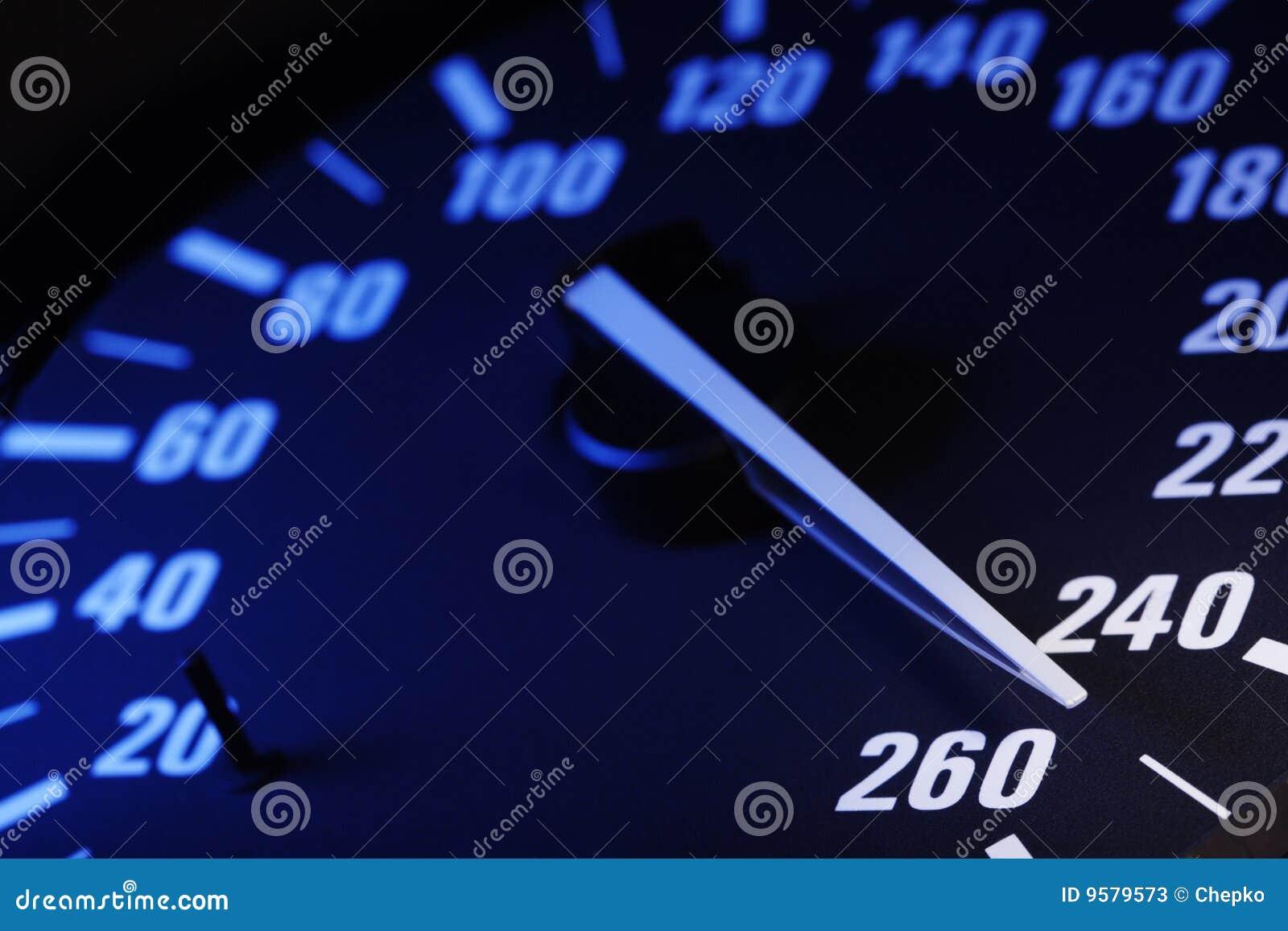 Maximum Speed Stock Image Image Of Auto Deck Speedometer 9579573