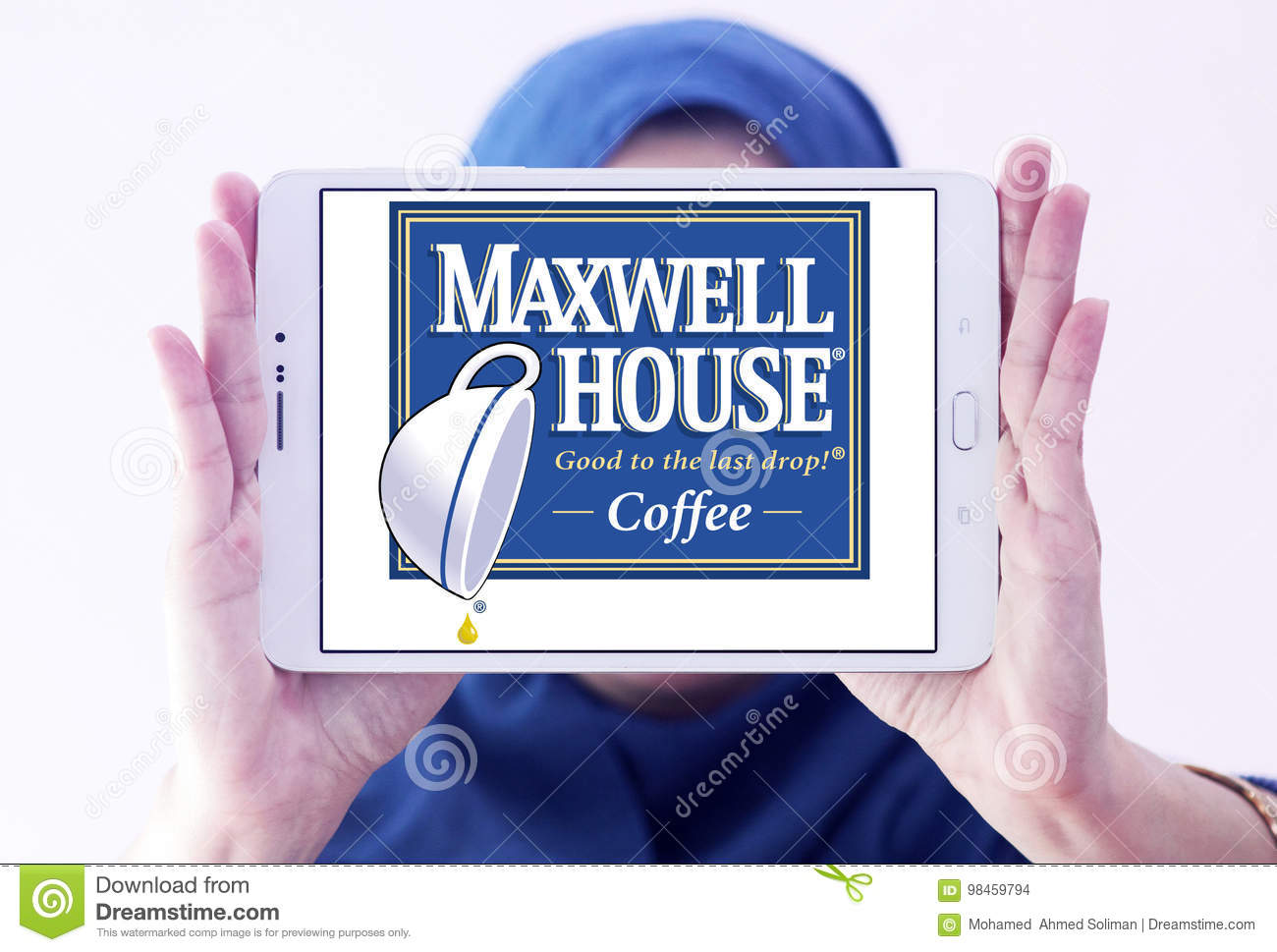 Maxwell House Coffee Logo Editorial Stock Image Image Of