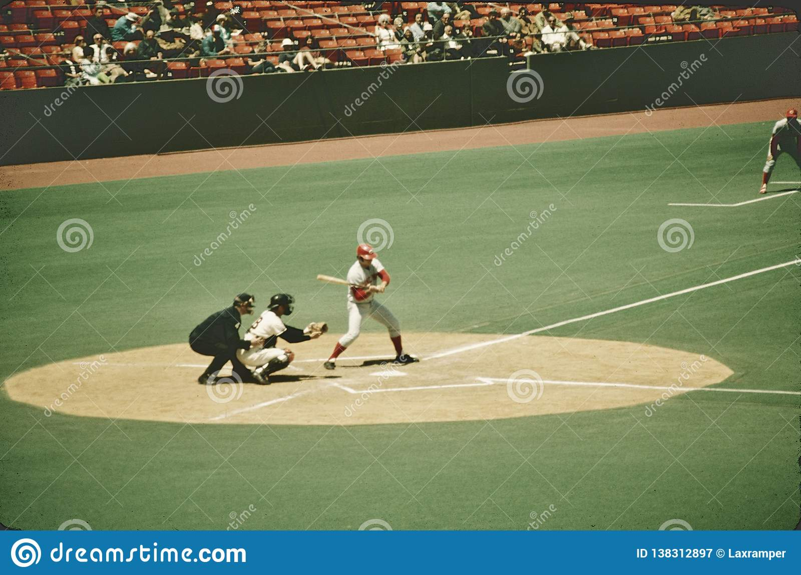 Pete Rose Vs SF Giants at Candlestick Park May 21 , 1971