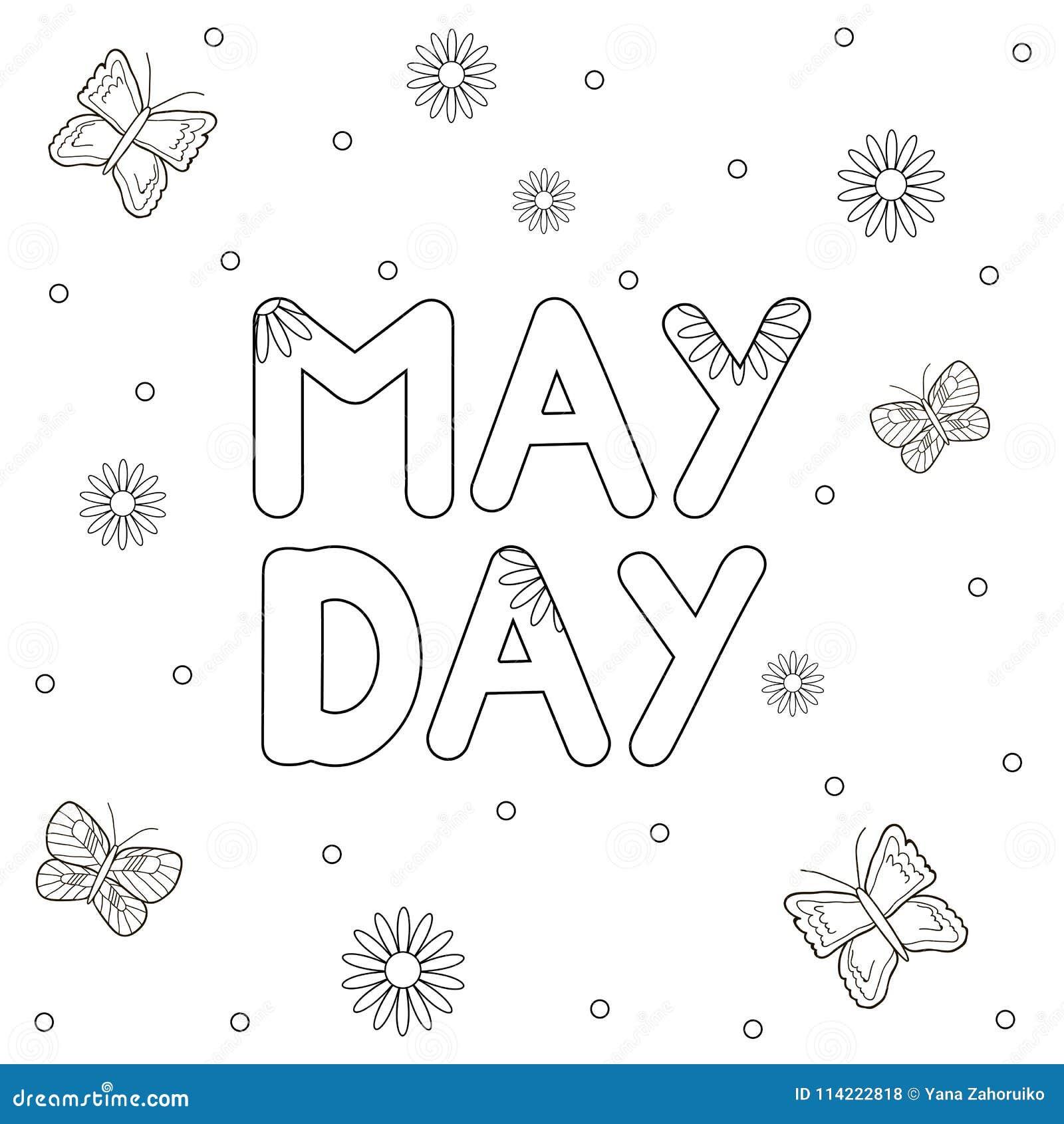 May Coloring Page Stock Illustrations 221 May Coloring Page Stock Illustrations Vectors Clipart Dreamstime