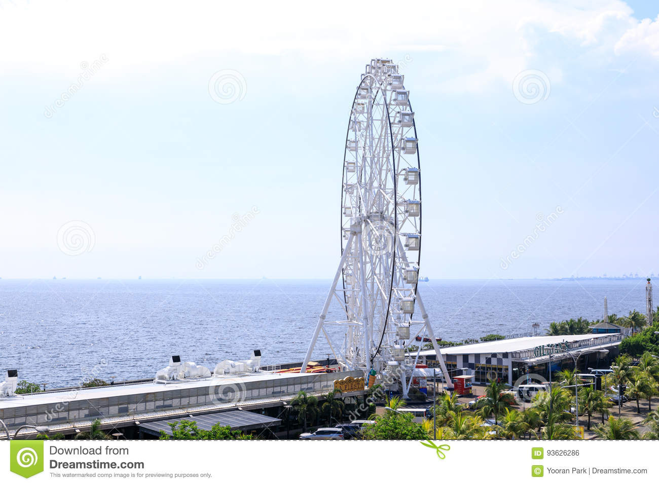 May 31, 2017 Ferris wheel at Mall of Asia in Manila. The ferris