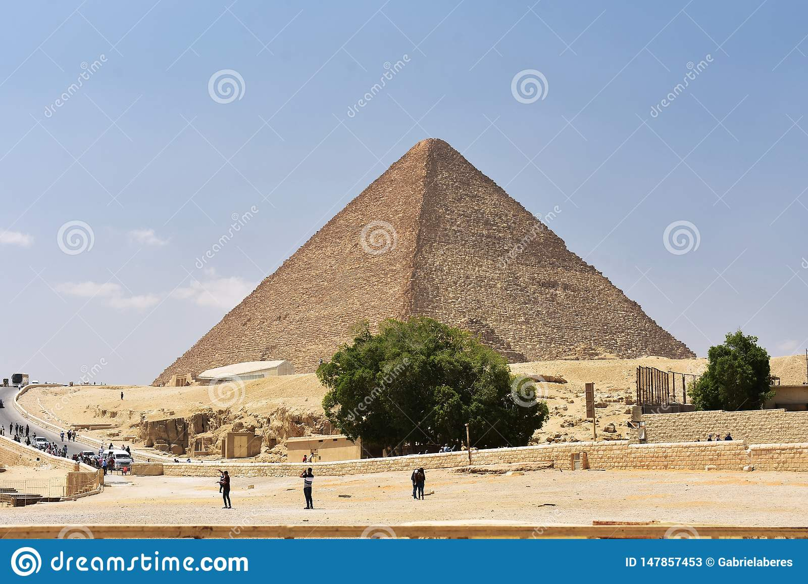 May, 6, 2019  The Great Pyramid Of Giza, Egypt Editorial