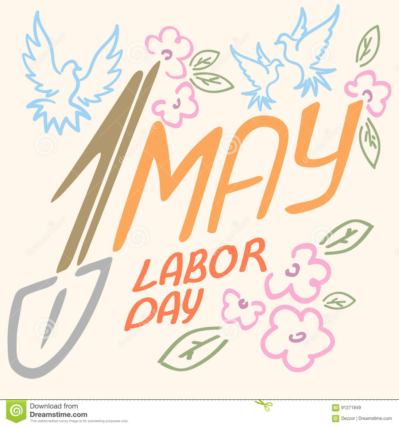 May 1 labor day logo symbol of pigeon spring flowers spade holiday may 1 labor day logo symbol of pigeon spring flowers spade holiday weekend buycottarizona Choice Image