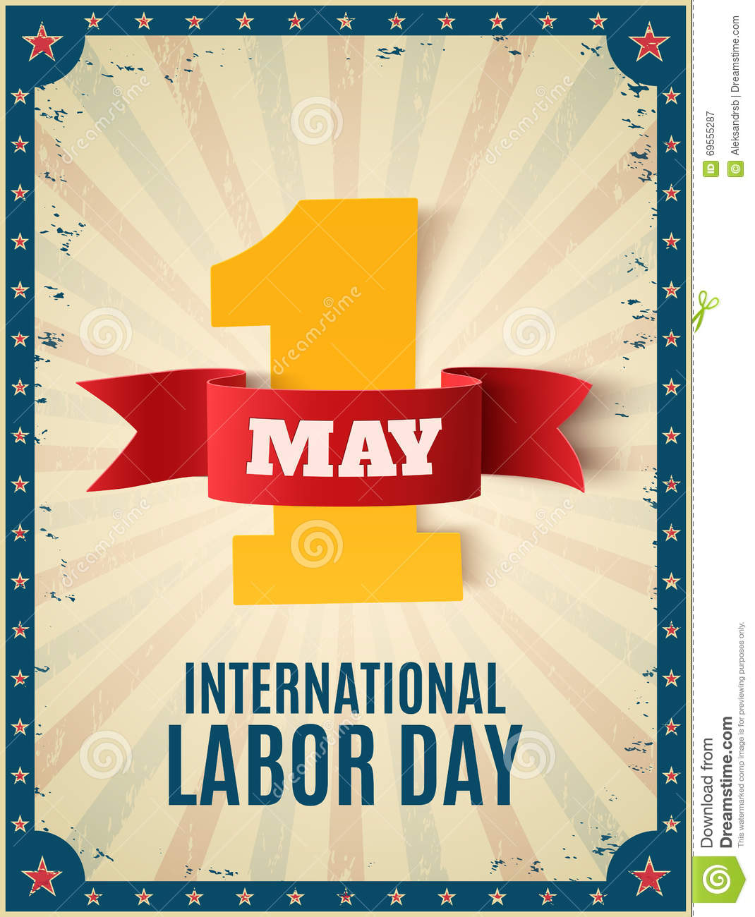 May 1st labor day background template stock vector labor day background template kristyandbryce Image collections