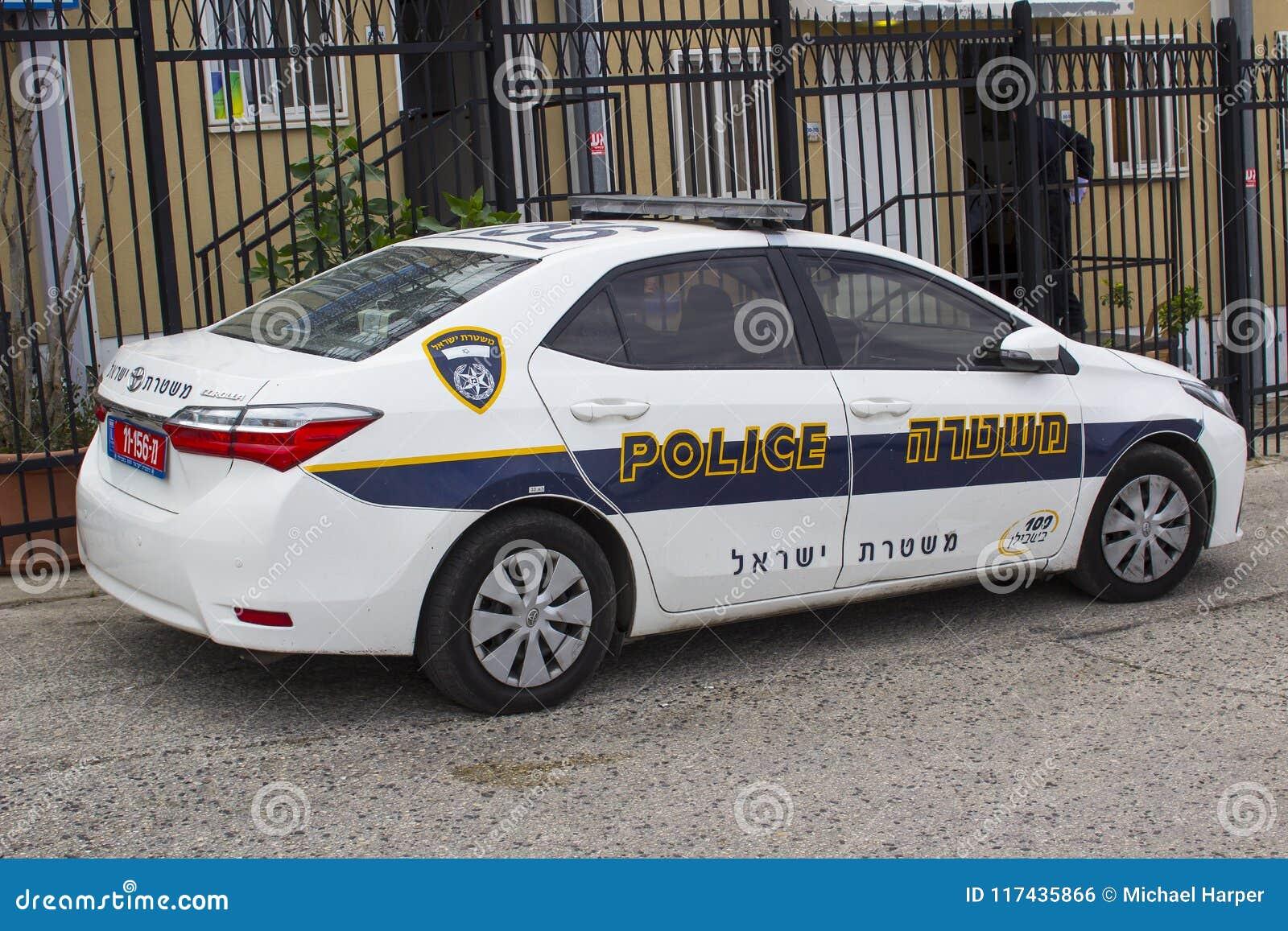 מתוחכם A Toyota Corolla Car In Police Force With Hi Visibility Livery OH-99