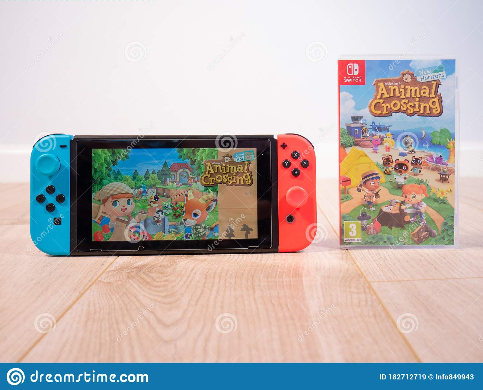 May 2020 Uk Nintendo Switch Console And Animal Crossing New