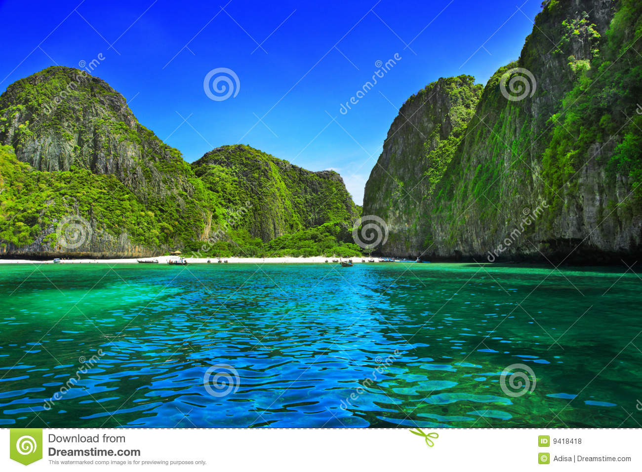 Download Maya Bay stock photo. Image of carved, colorful, journey - 9418418