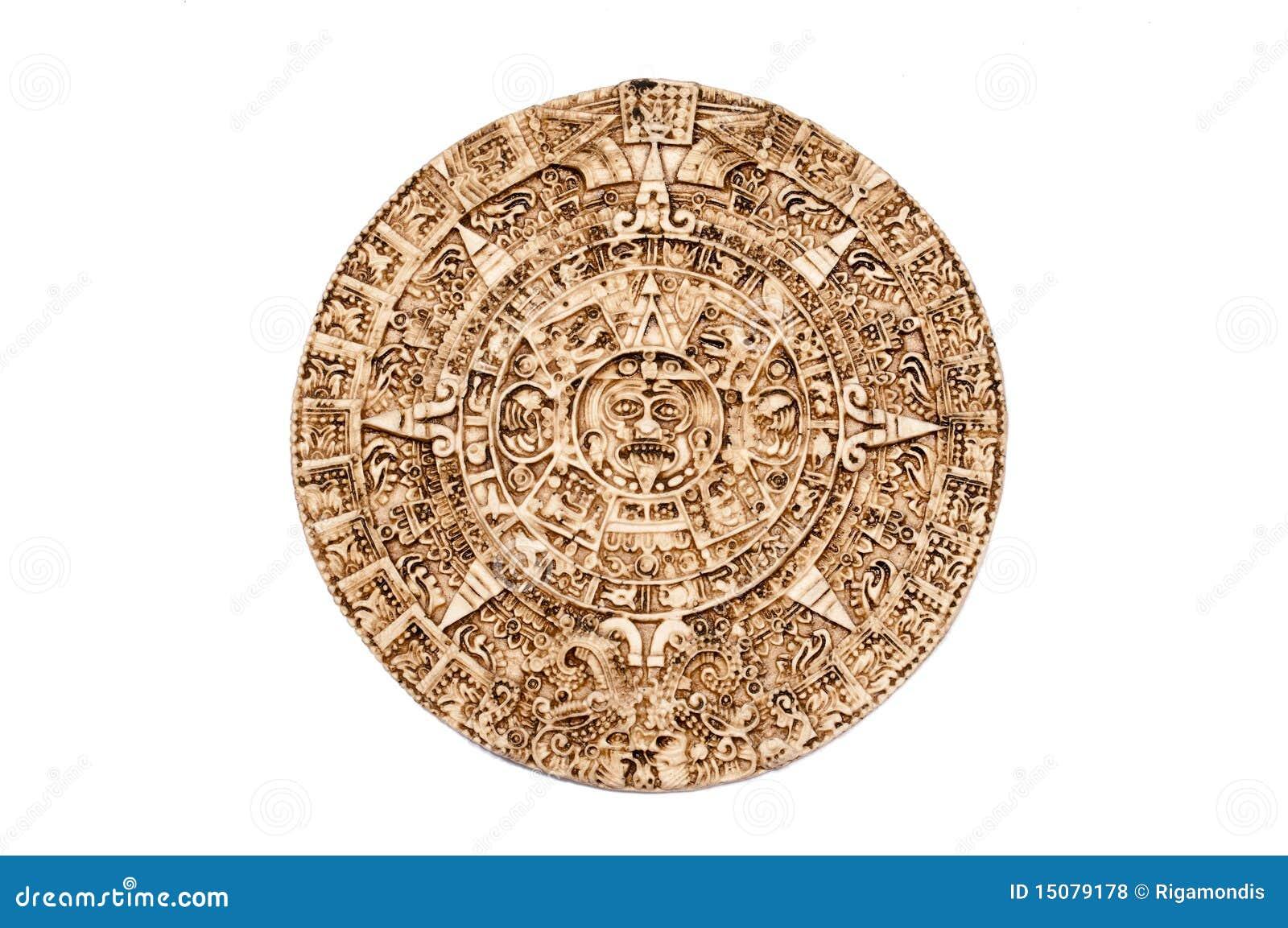 Maya Calendar Royalty Free Stock Photos - Image: 15079178