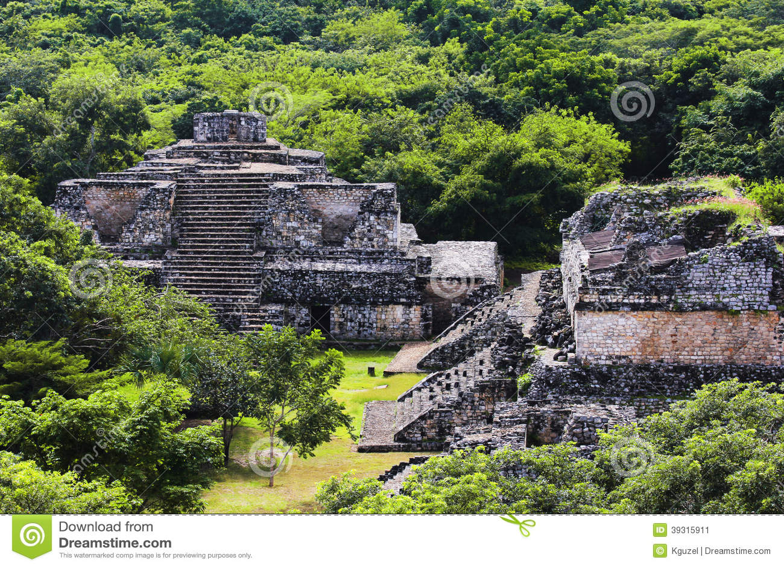 Maya City of Ek Balam. Mexico.