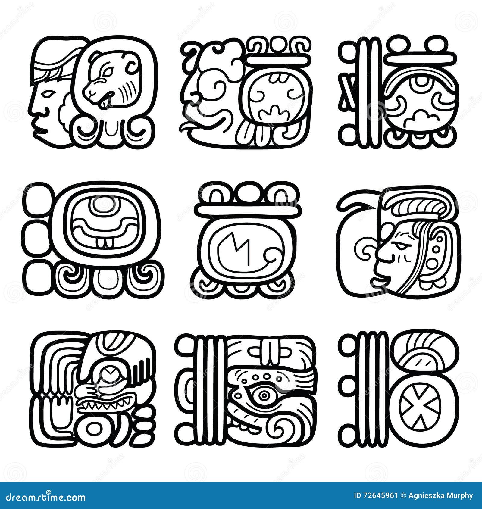 Maya hieroglyphic writing an introduction for an essay