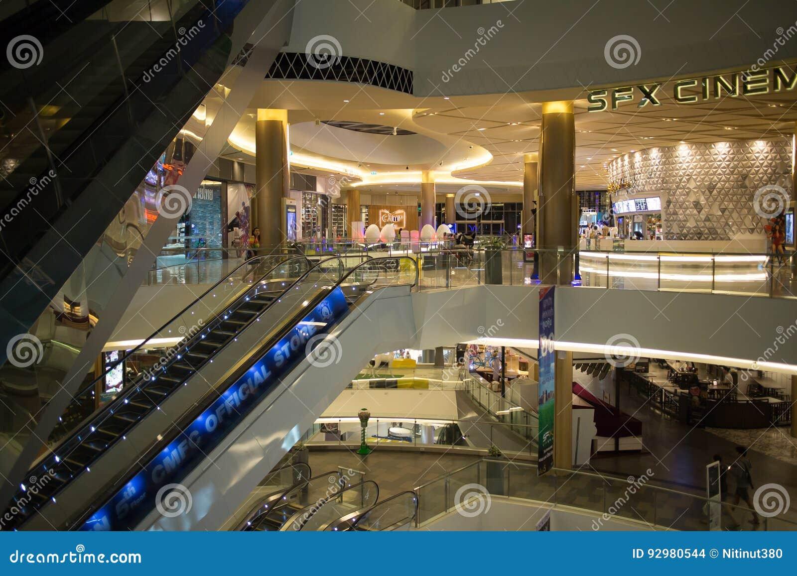 Maya Lifestyle Shopping Center intérieure