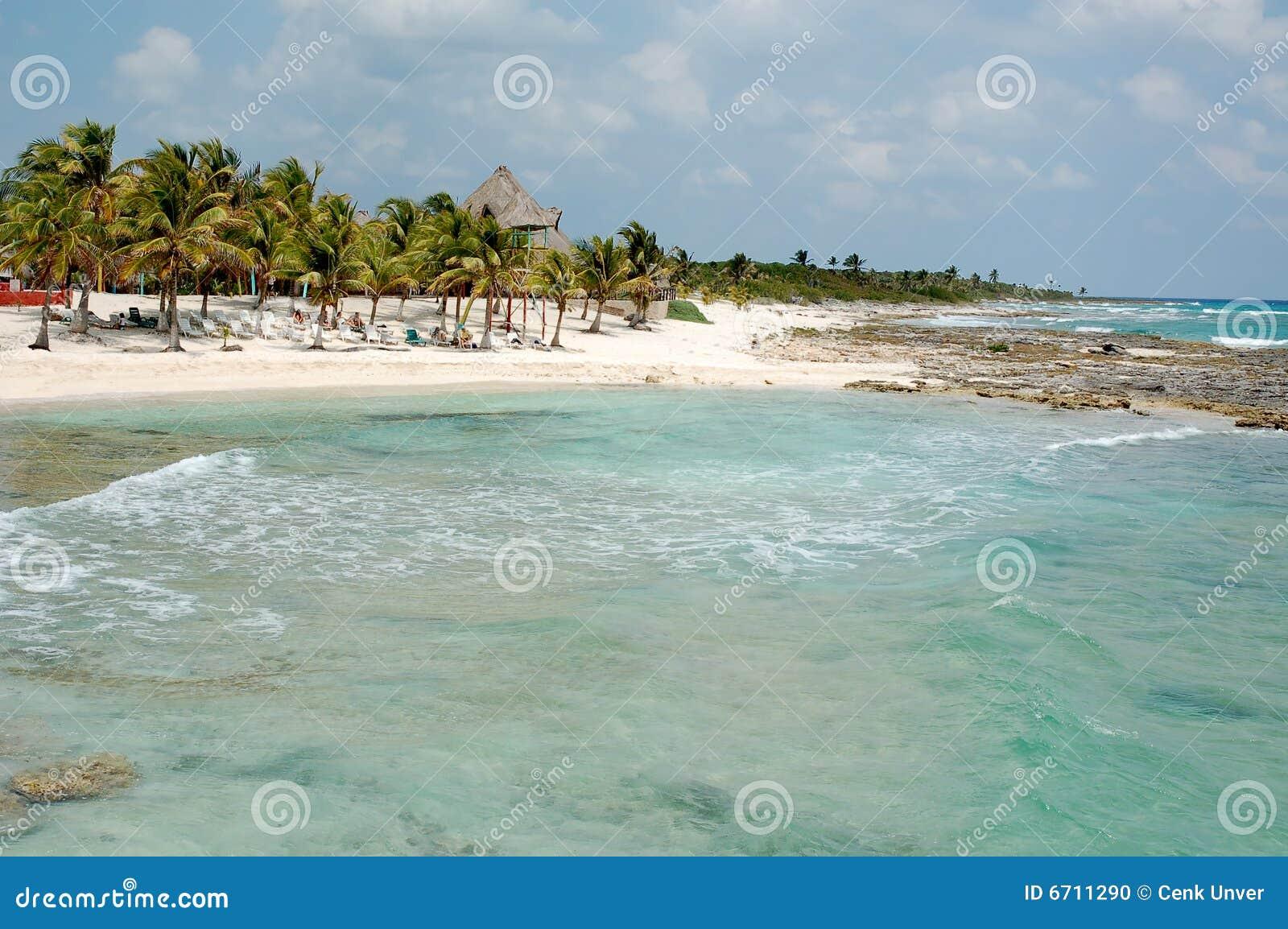 Maya Mexique de côte