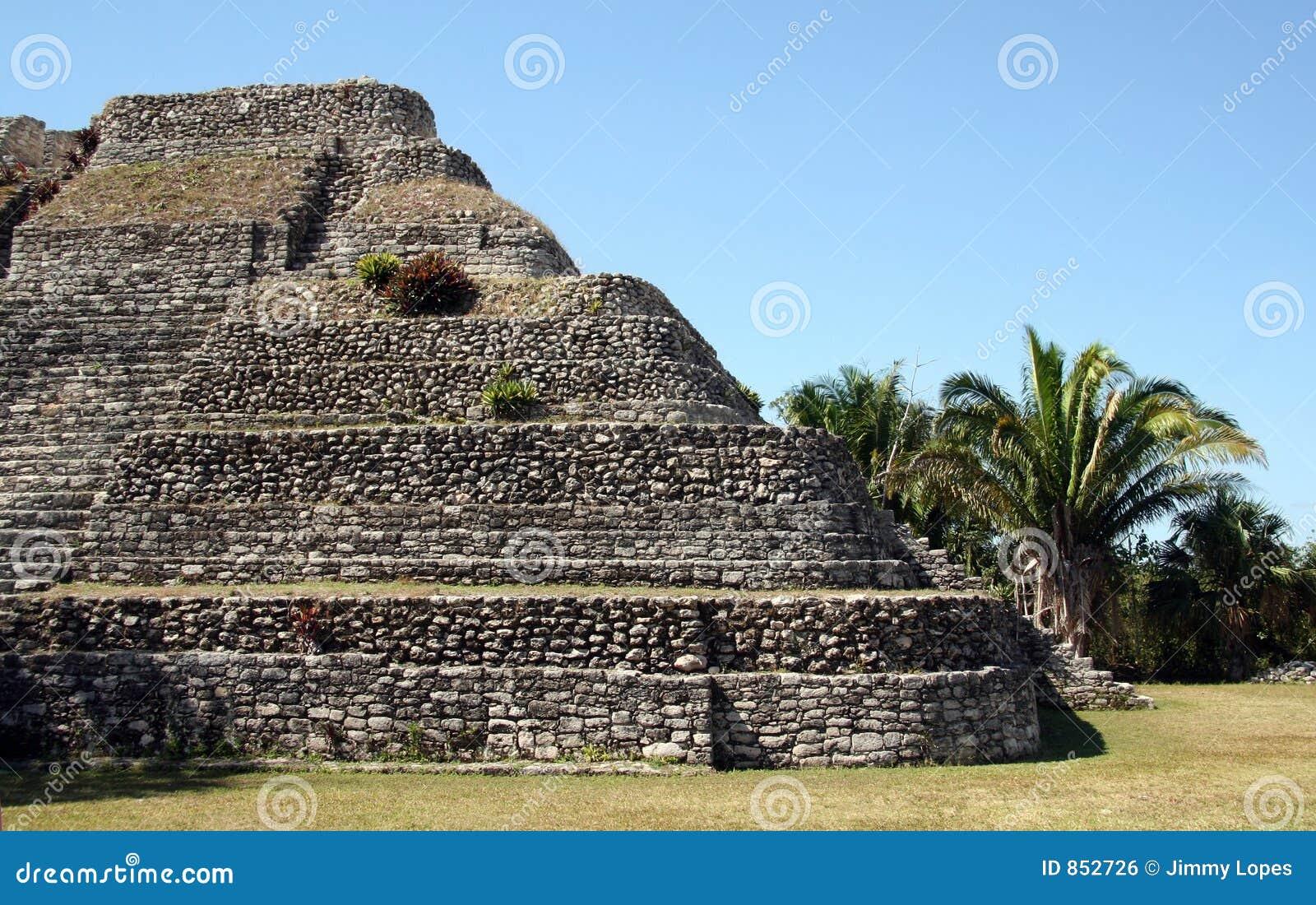 Mayan καταστροφή του Μεξικού