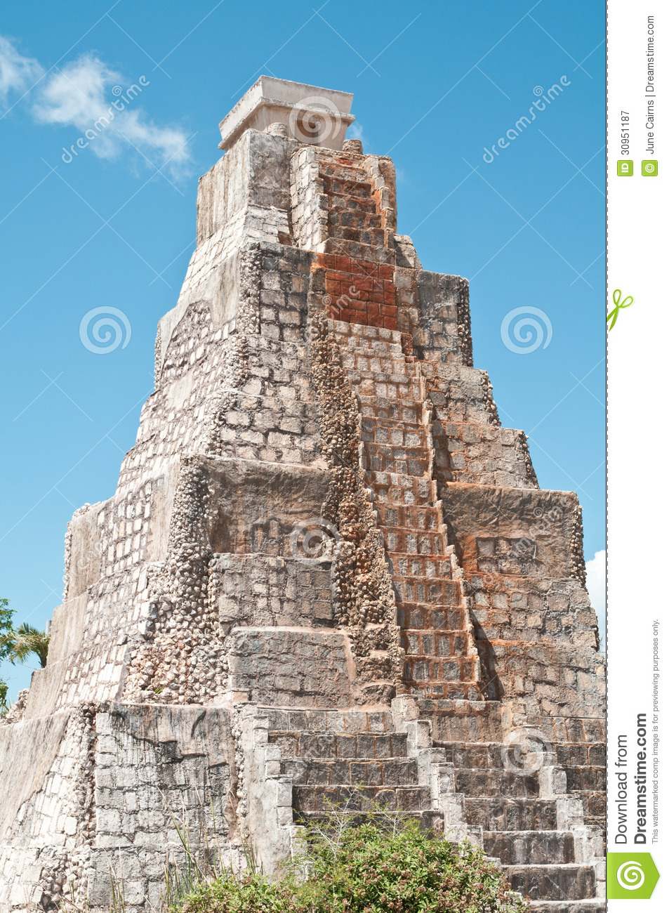 mayan architecture royalty free stock photography - image: 30951187