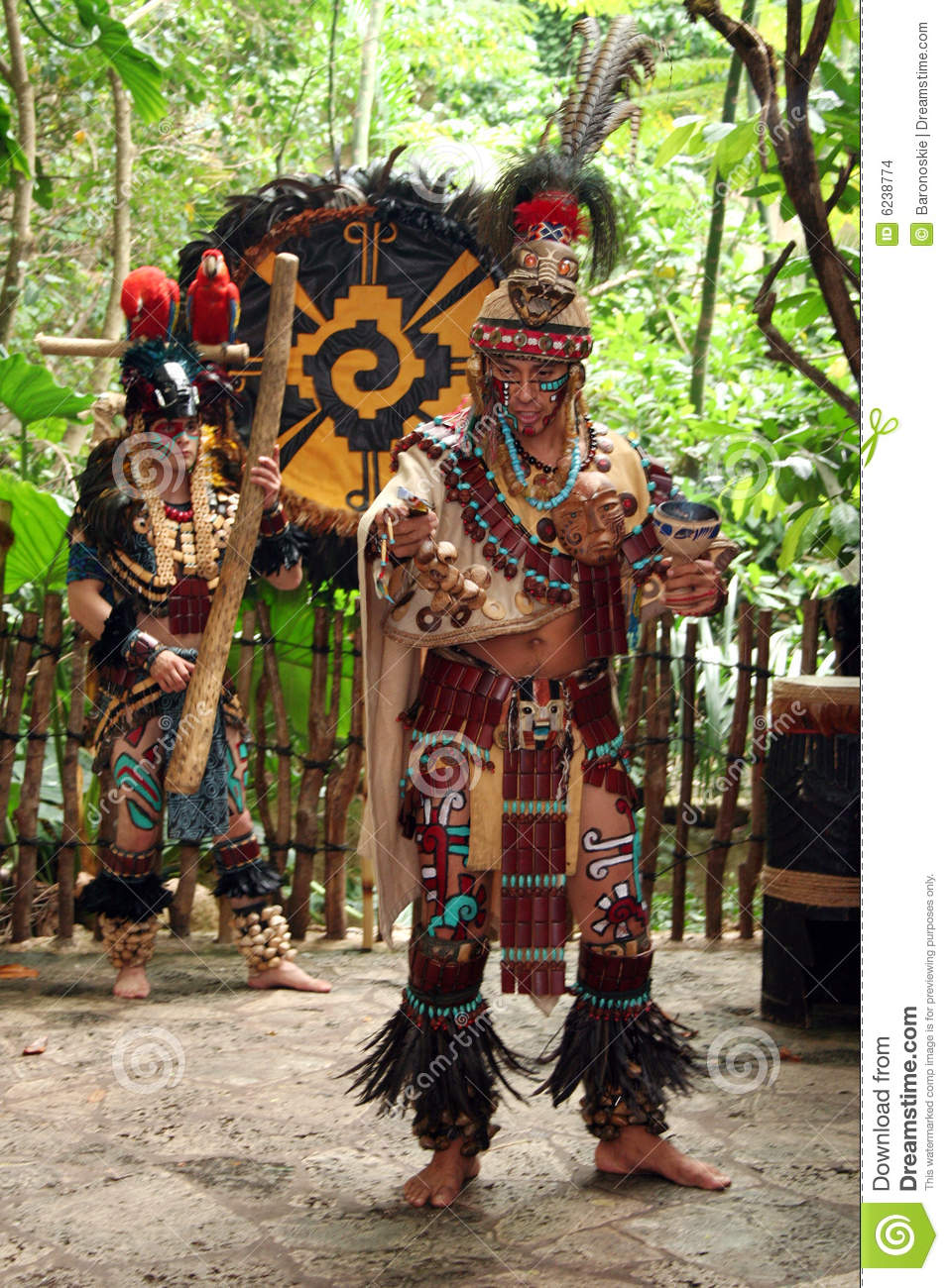 Mayan dancer gives a prayer in a Mayan Butterfly Celebration at the ...