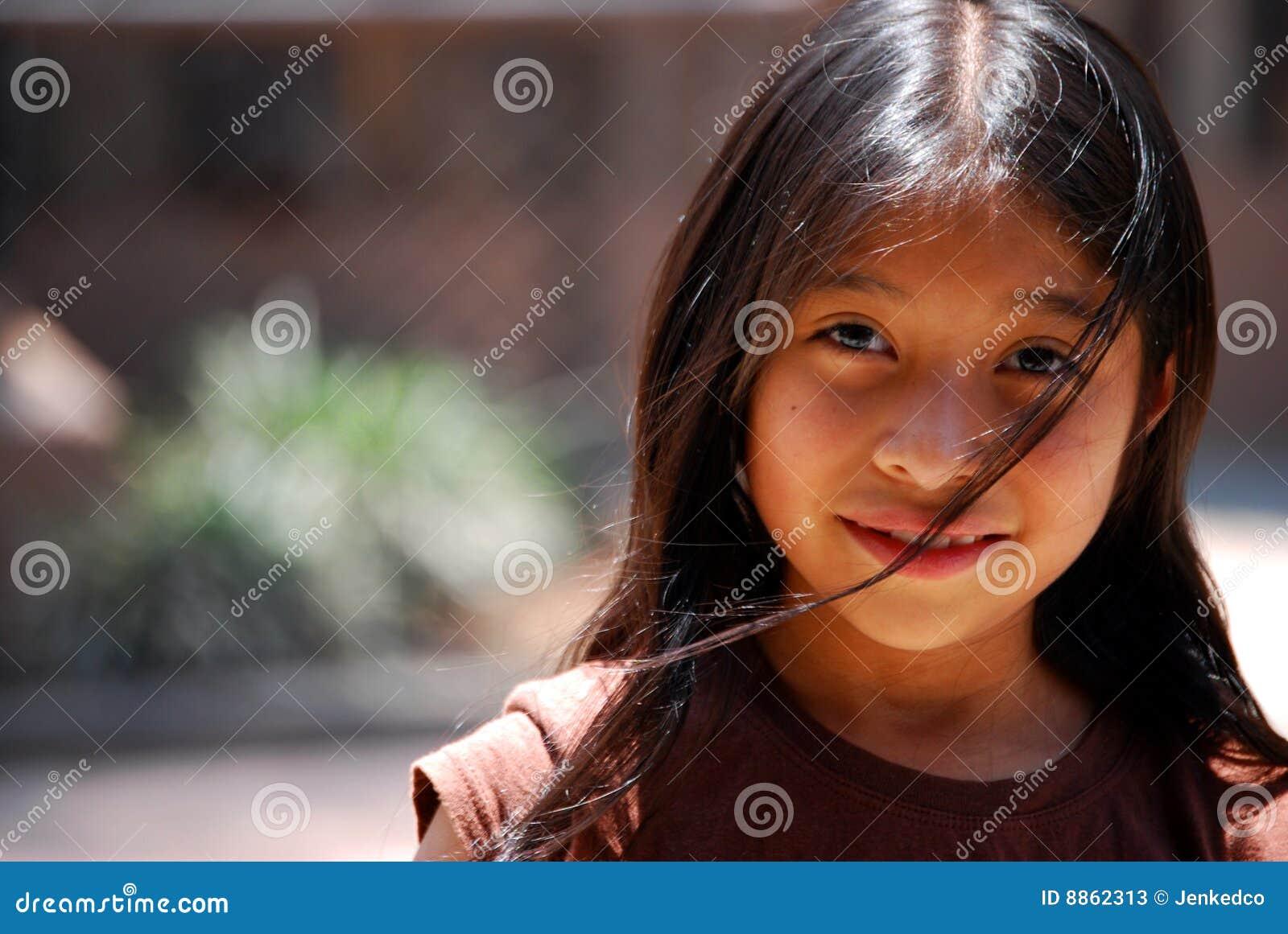 Mayan härlig flicka
