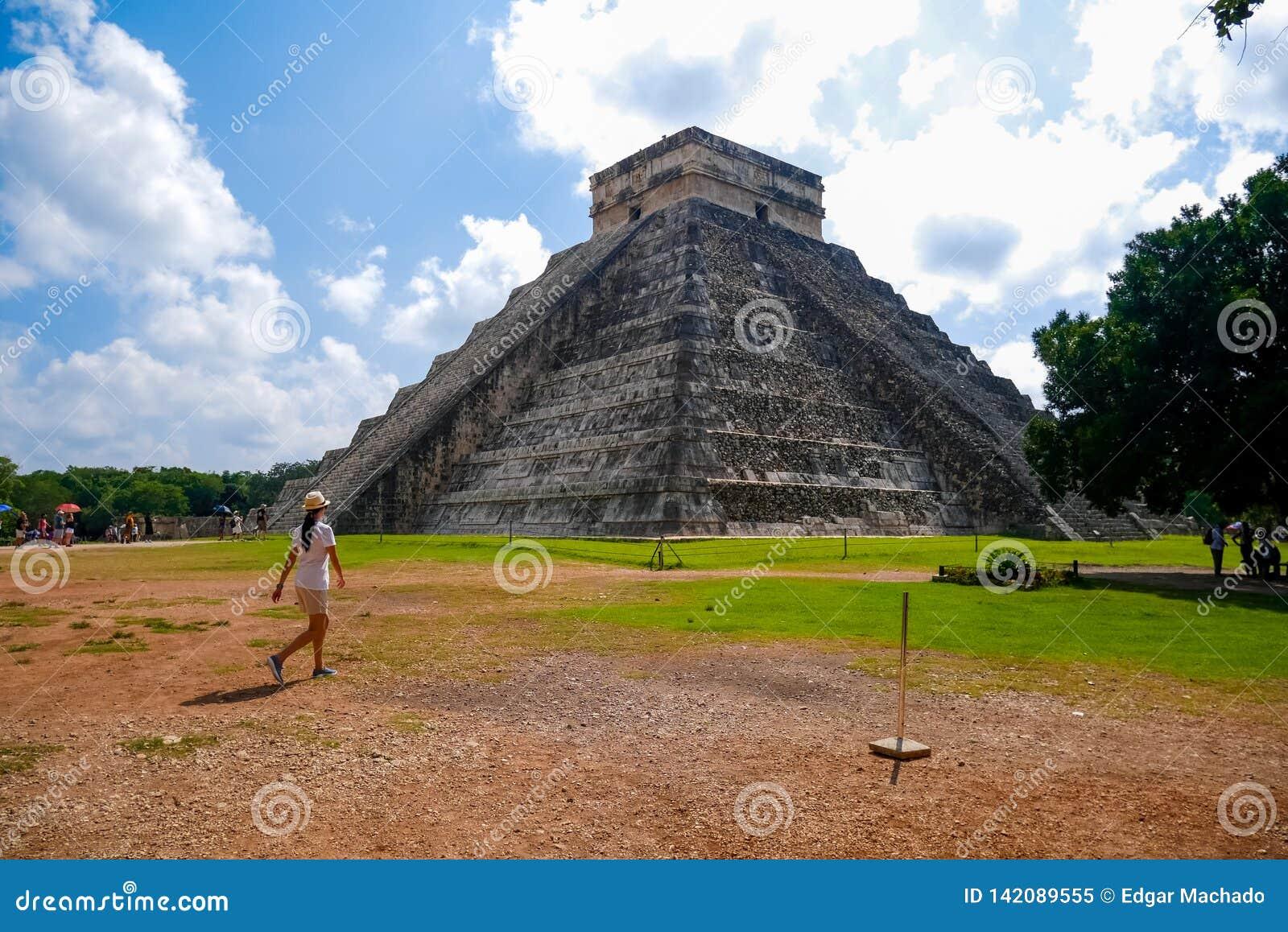 Mayan pyramid av Kukulkan