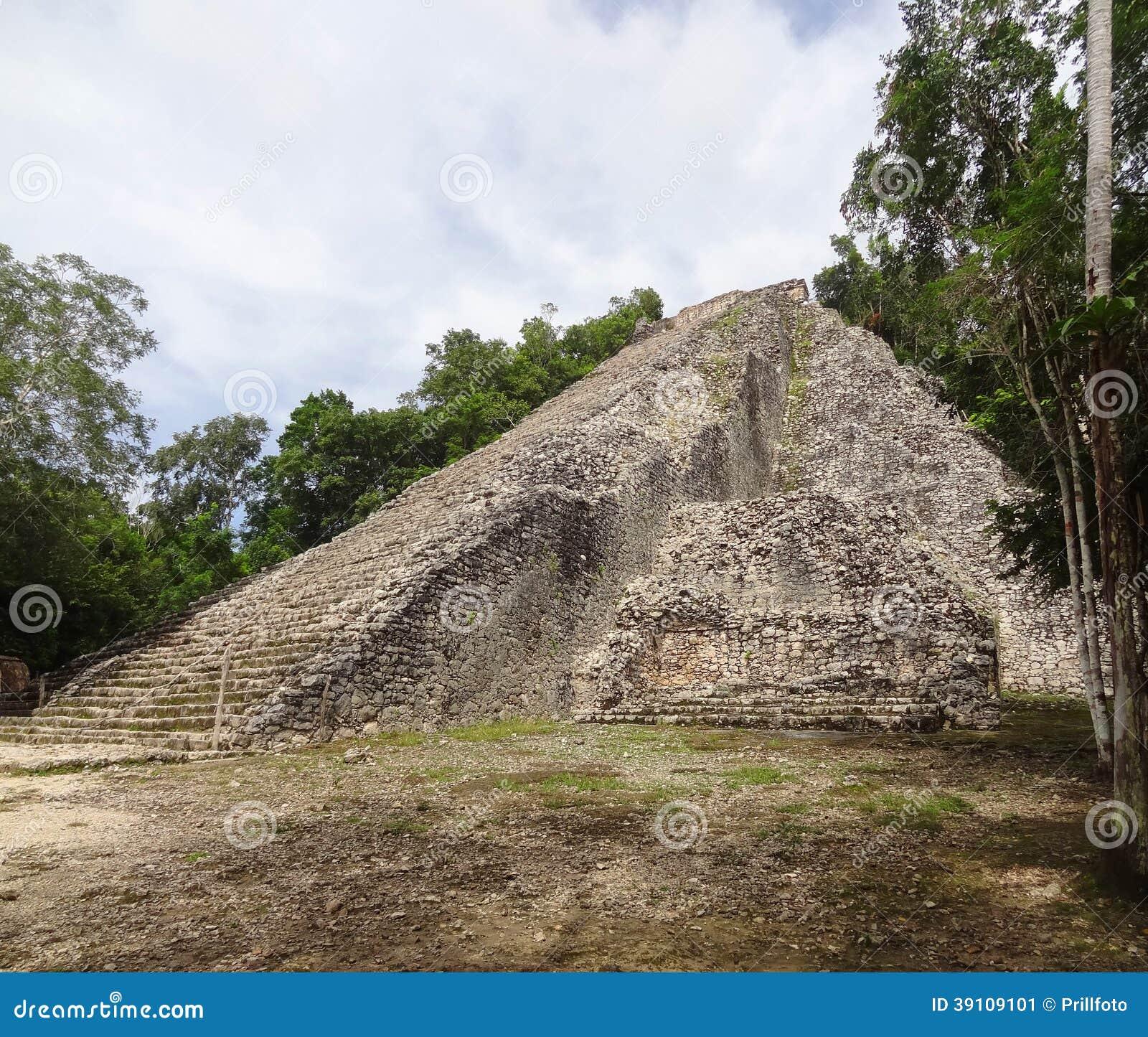 Mayan tempel